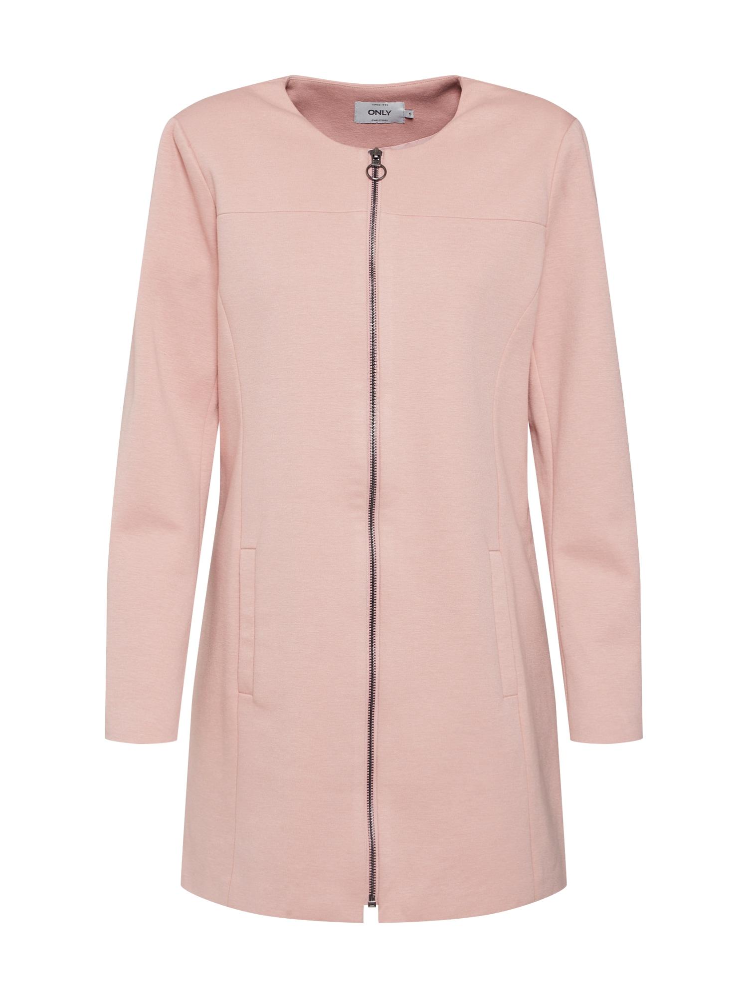 Přechodný kabát onlLOUISA růžová ONLY