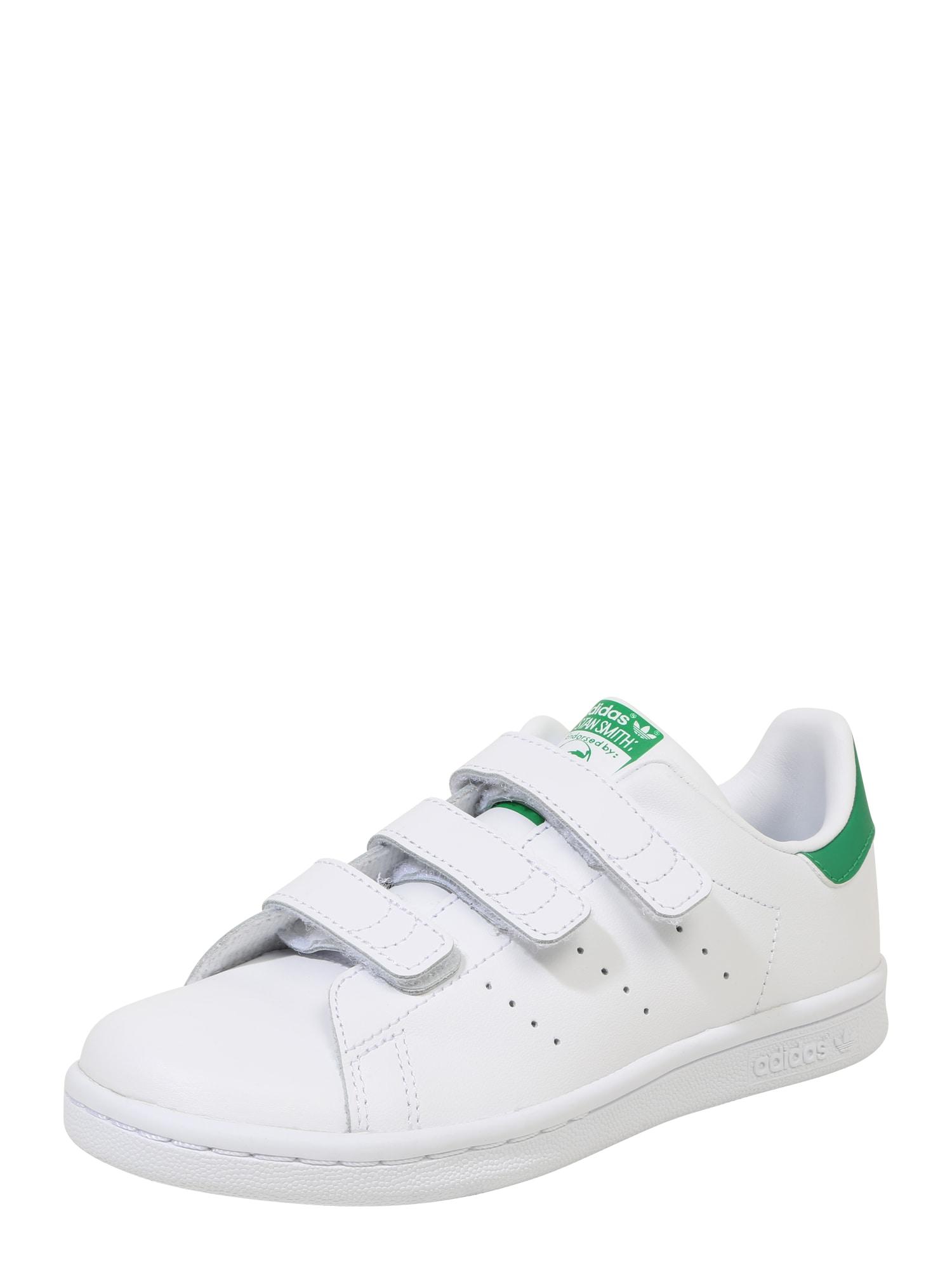 ADIDAS ORIGINALS Tenisky 'Stan Smith'  biela / zelená