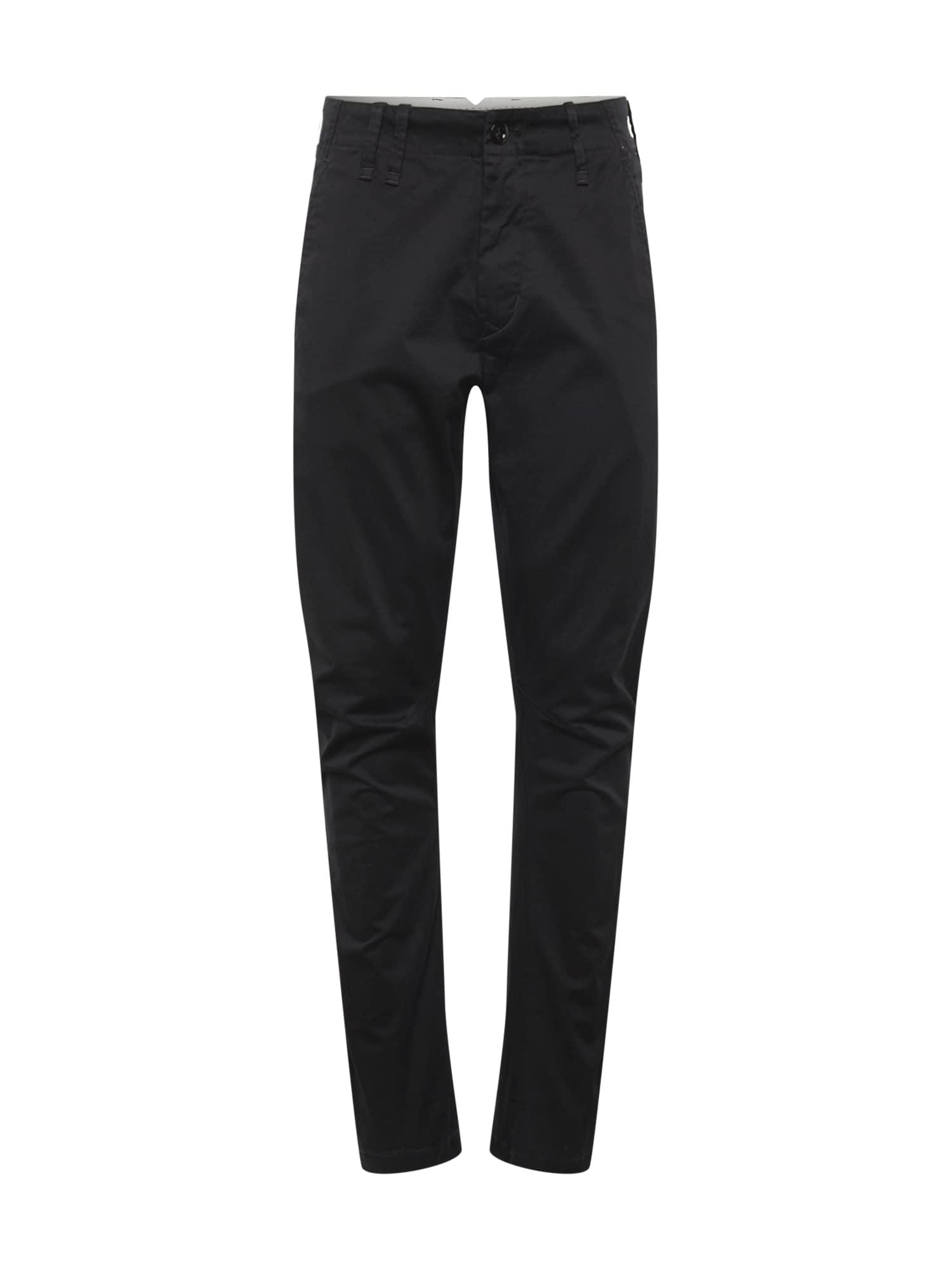 Chino kalhoty Vetar černá G-STAR RAW