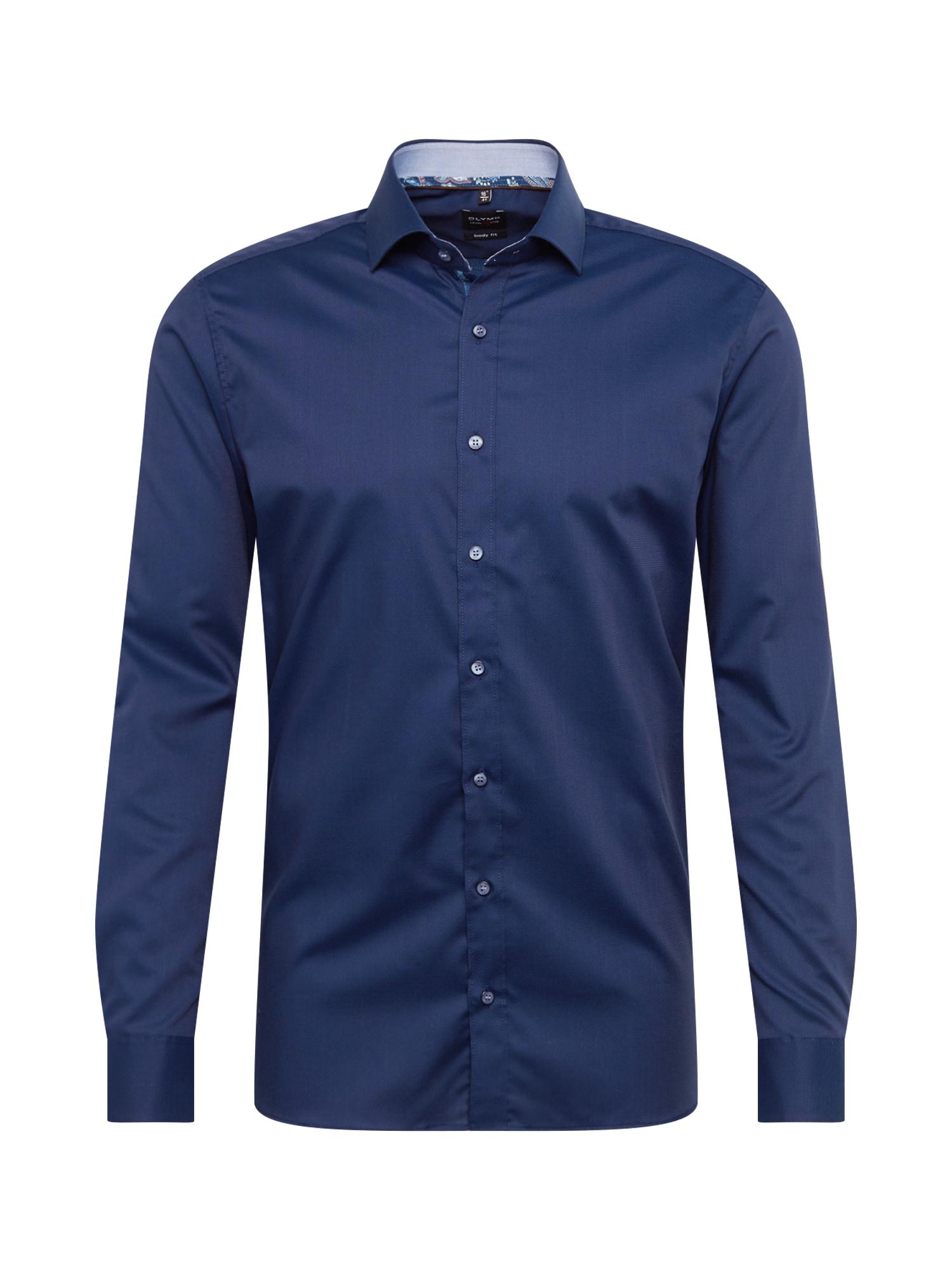 Košile Level 5 City námořnická modř OLYMP