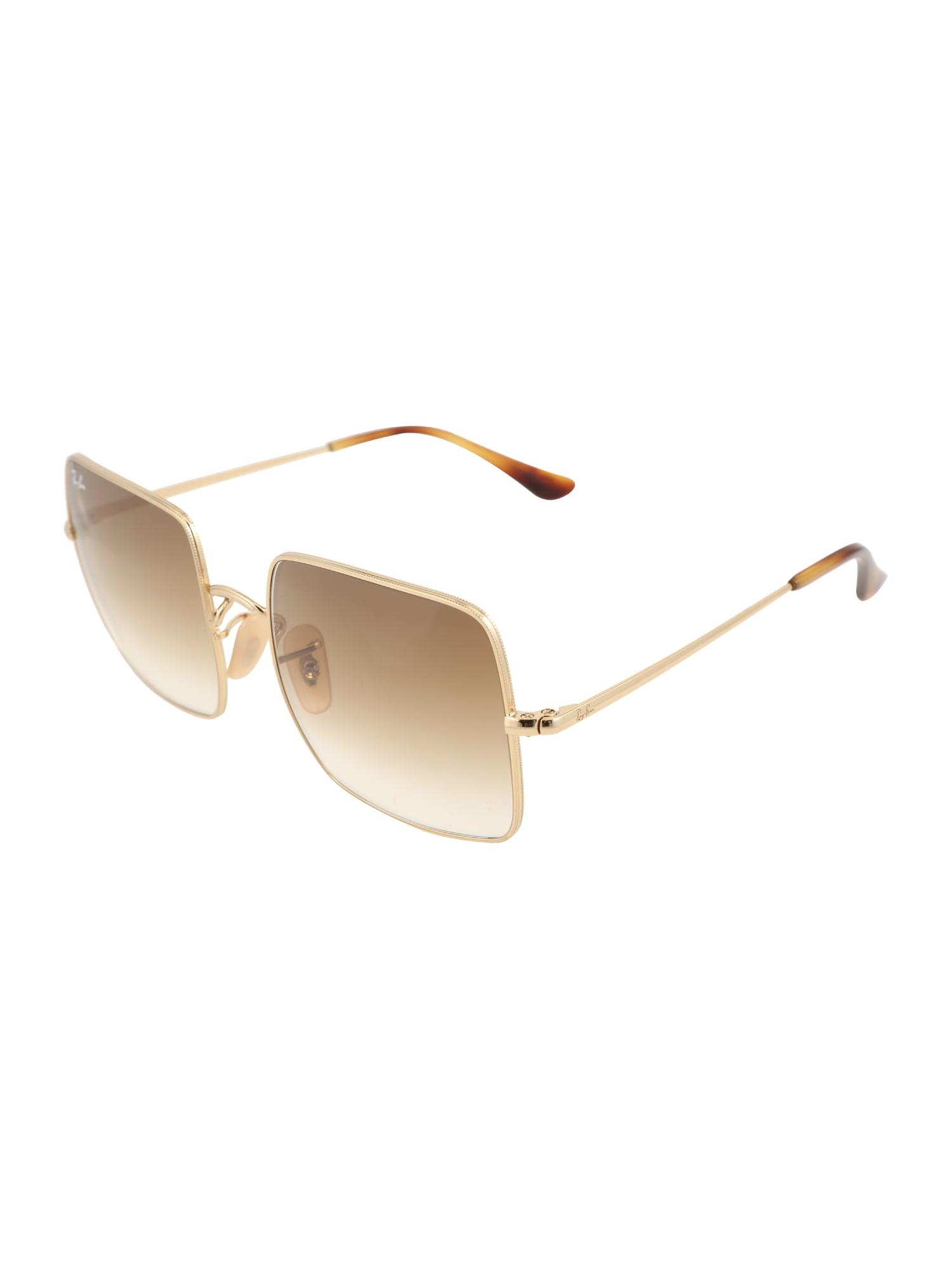 Ray-Ban Sluneční brýle 'SQUARE'  zlatá