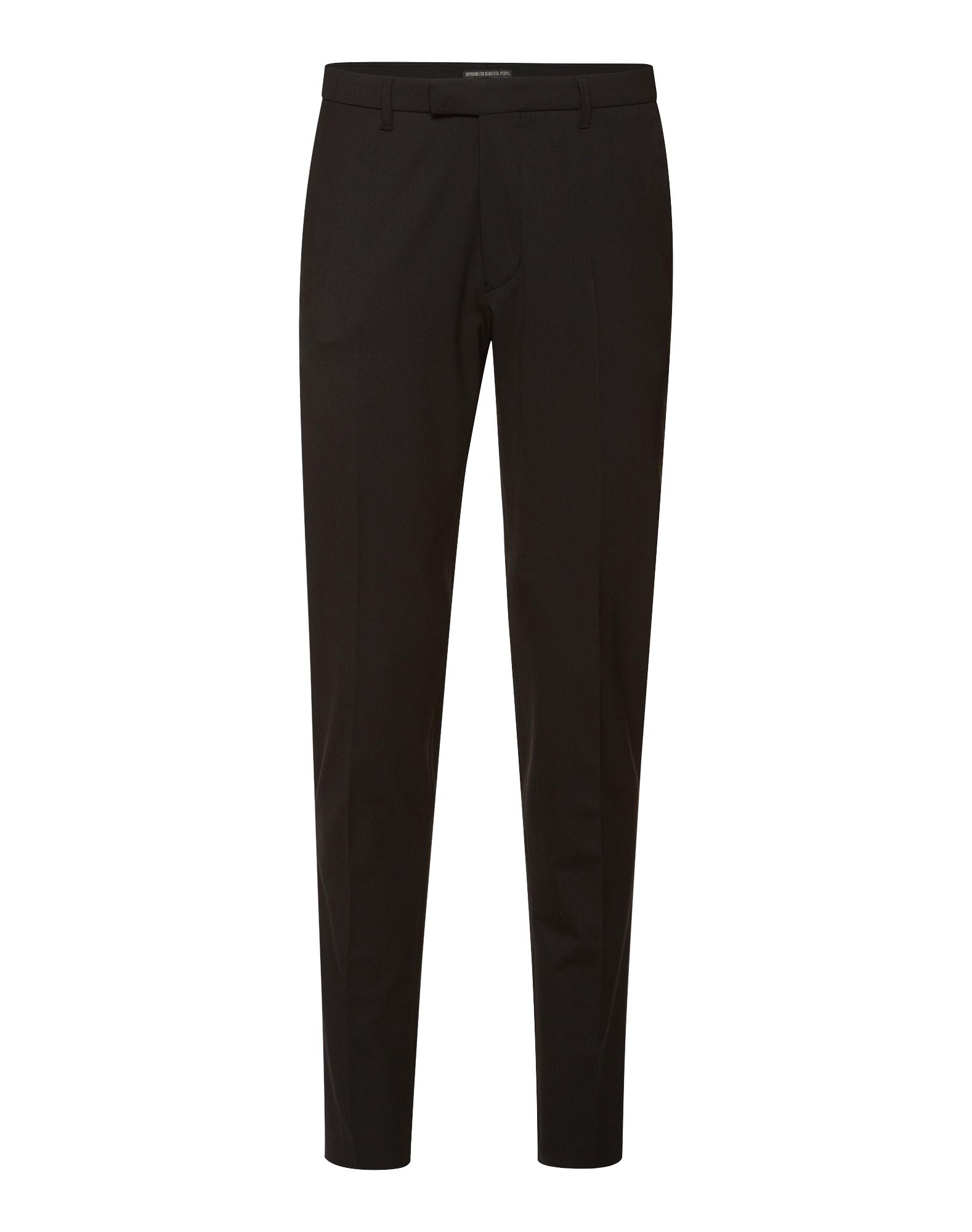 Kalhoty s puky Tyld černá DRYKORN
