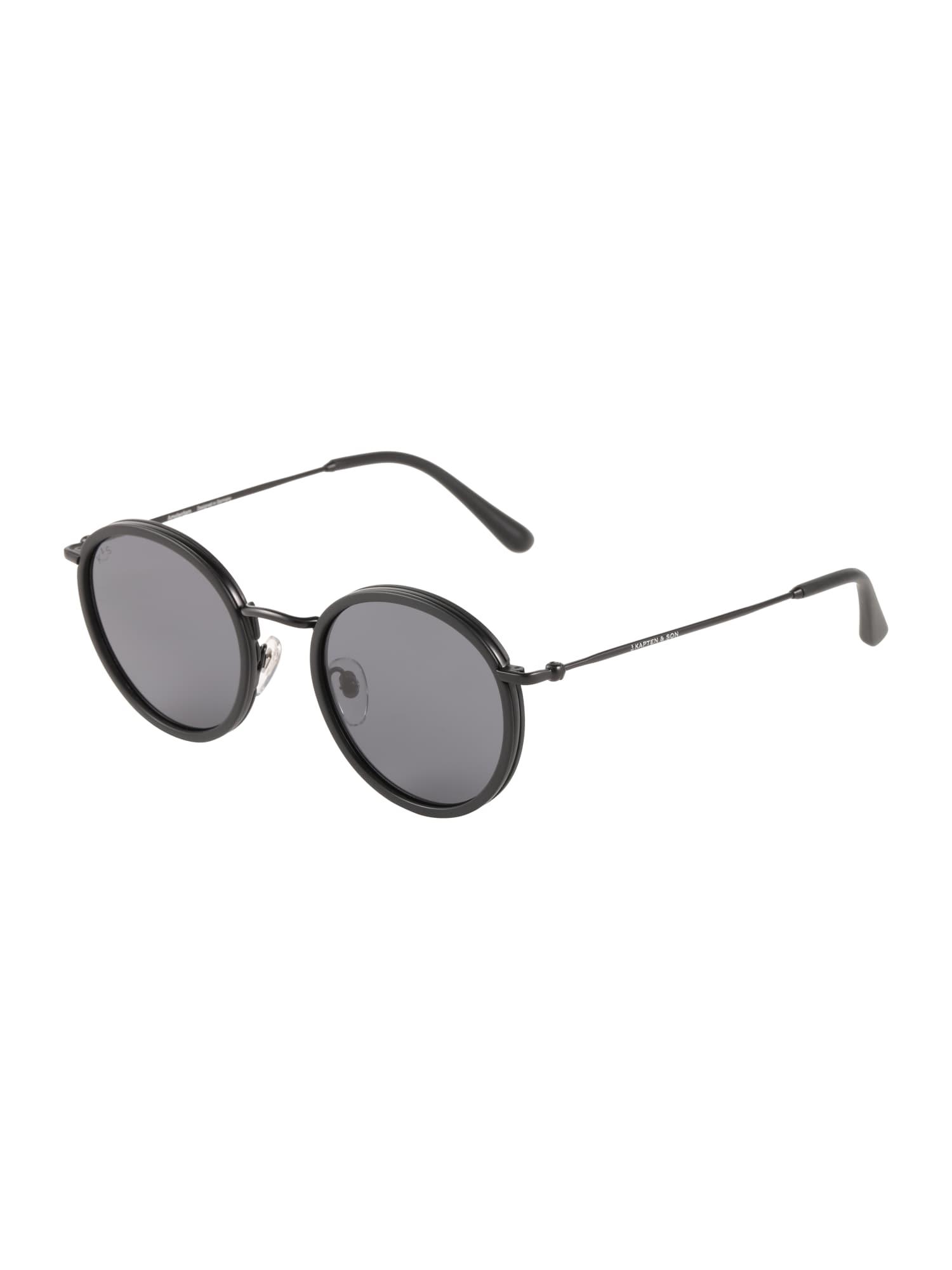 Sluneční brýle Amsterdam černá Kapten & Son