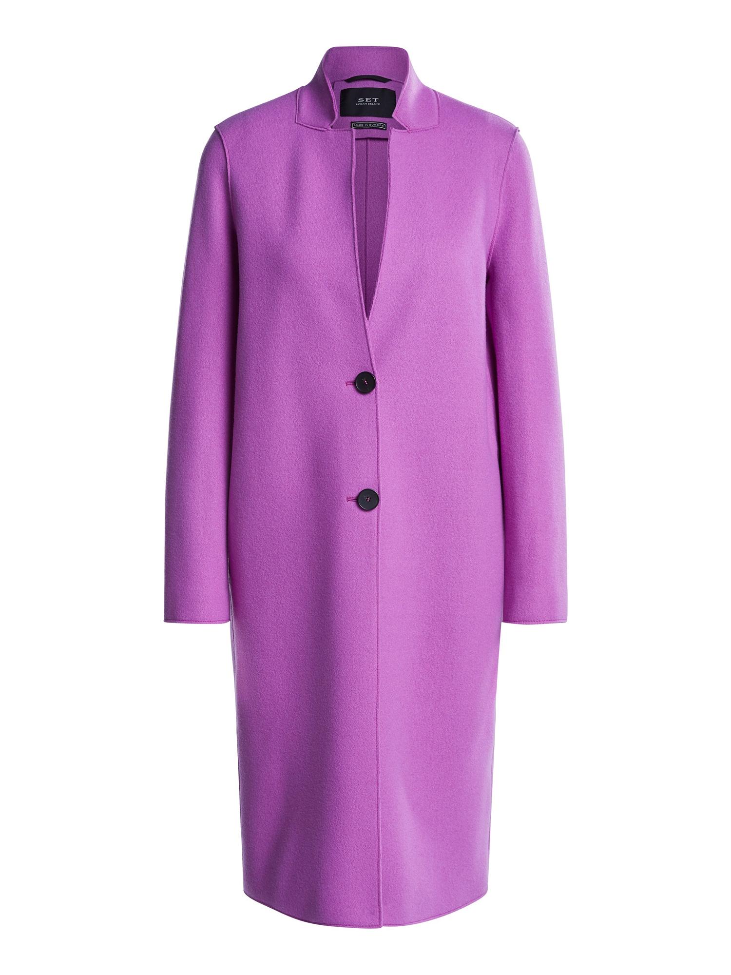 Přechodný kabát fialová SET