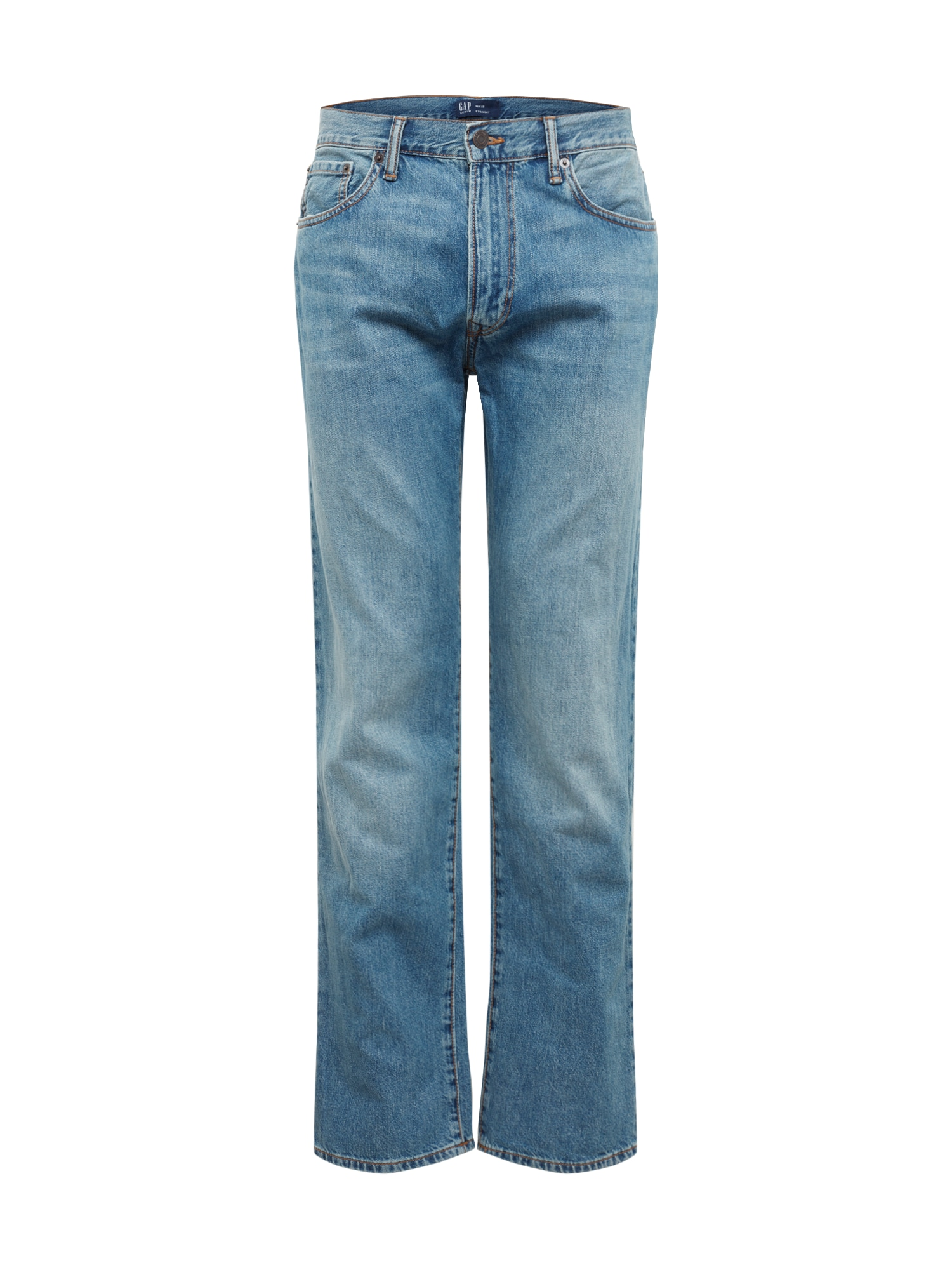 GAP Džínsy 'V-STRAIGHT OPP SIERRA VISTA'  modrá denim