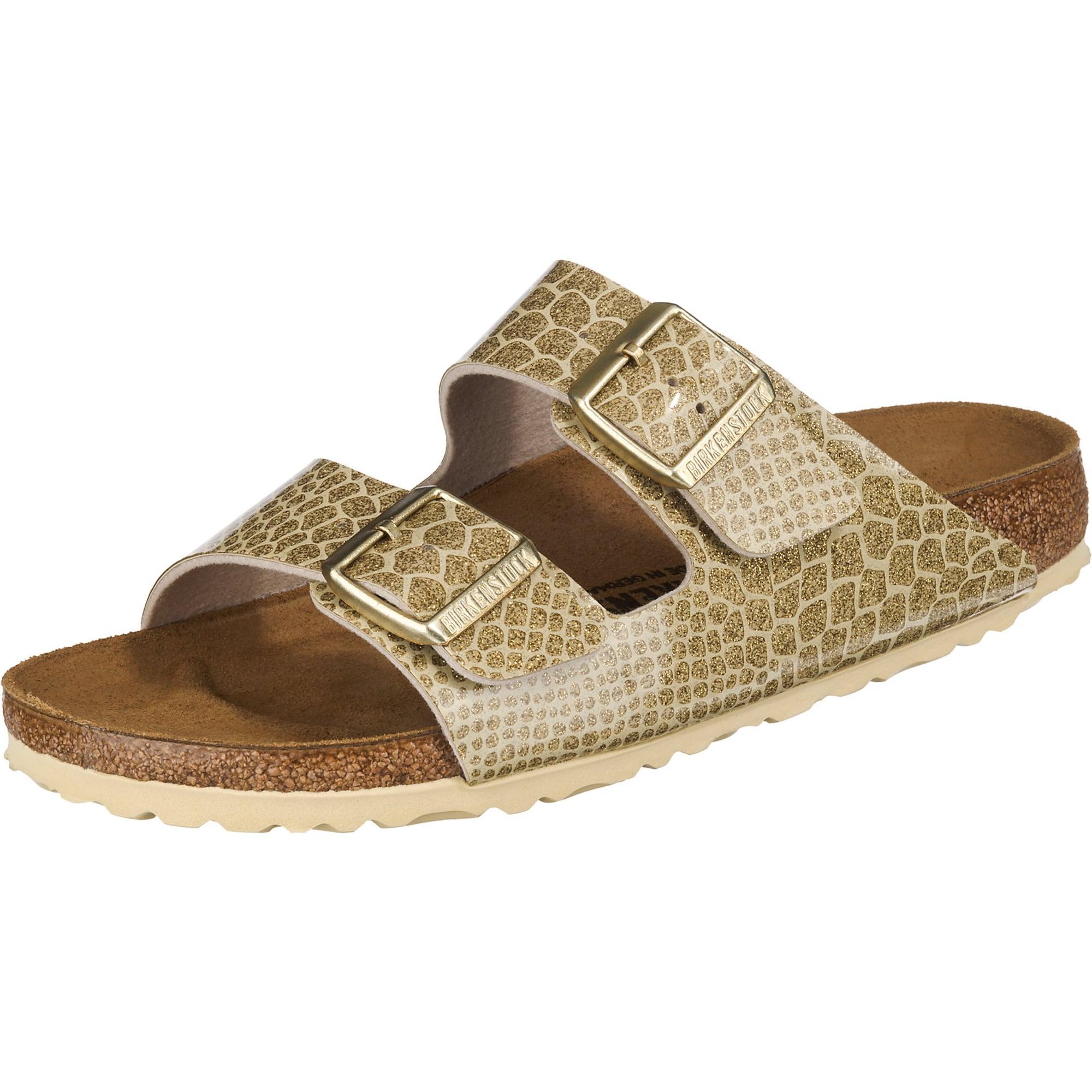 Pantofle Arizona zlatá BIRKENSTOCK