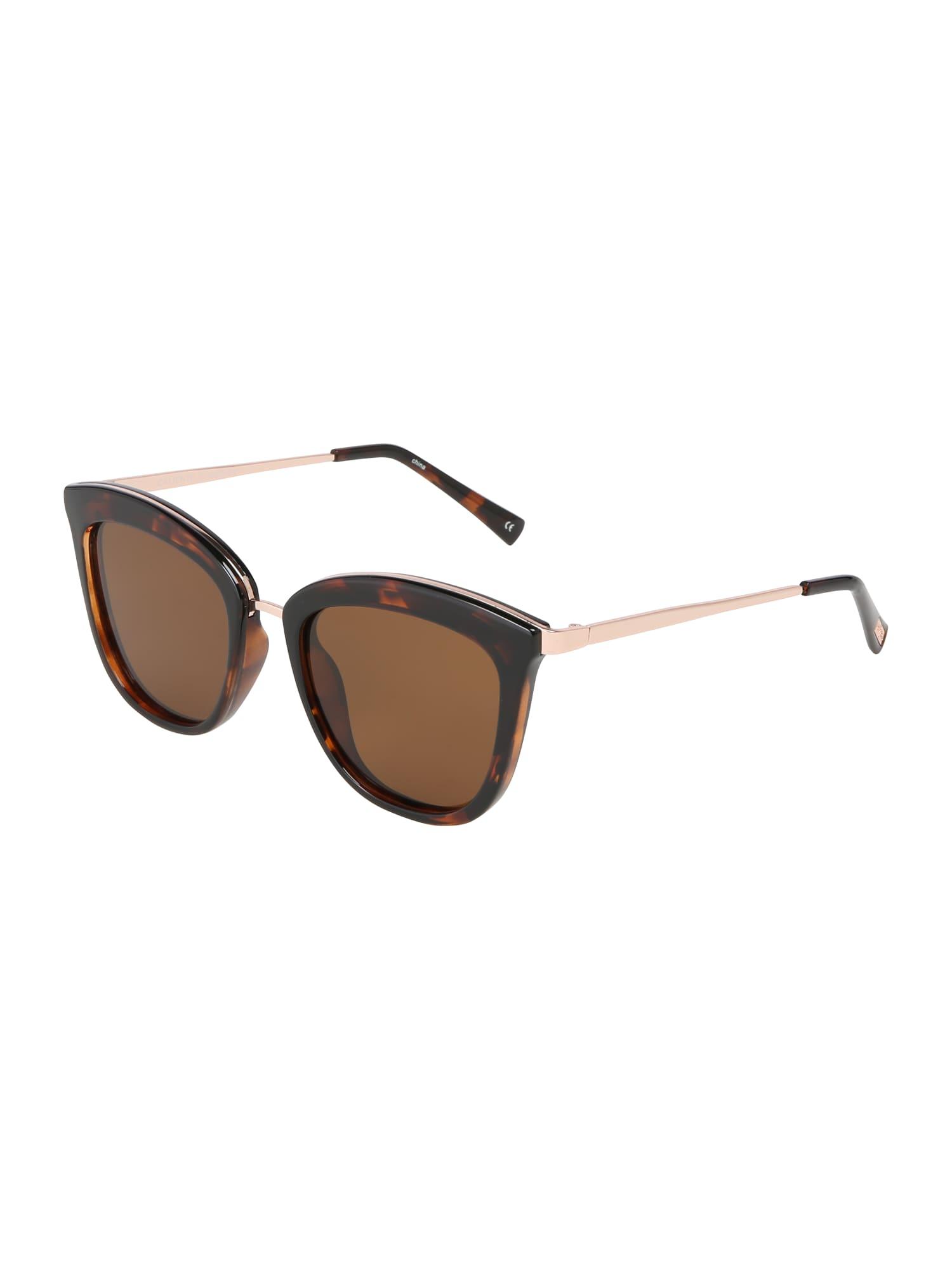 Sluneční brýle Caliente hnědá LE SPECS