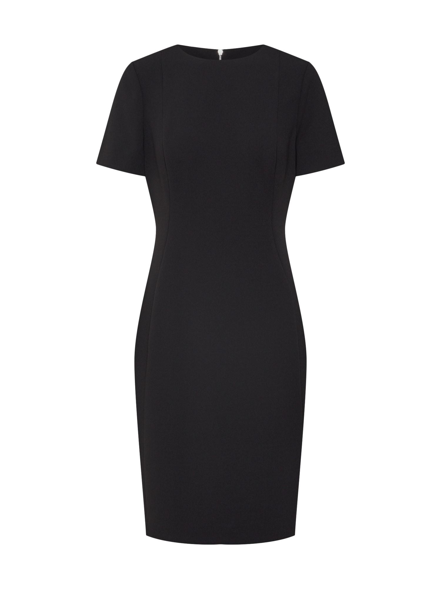 Pouzdrové šaty černá Calvin Klein