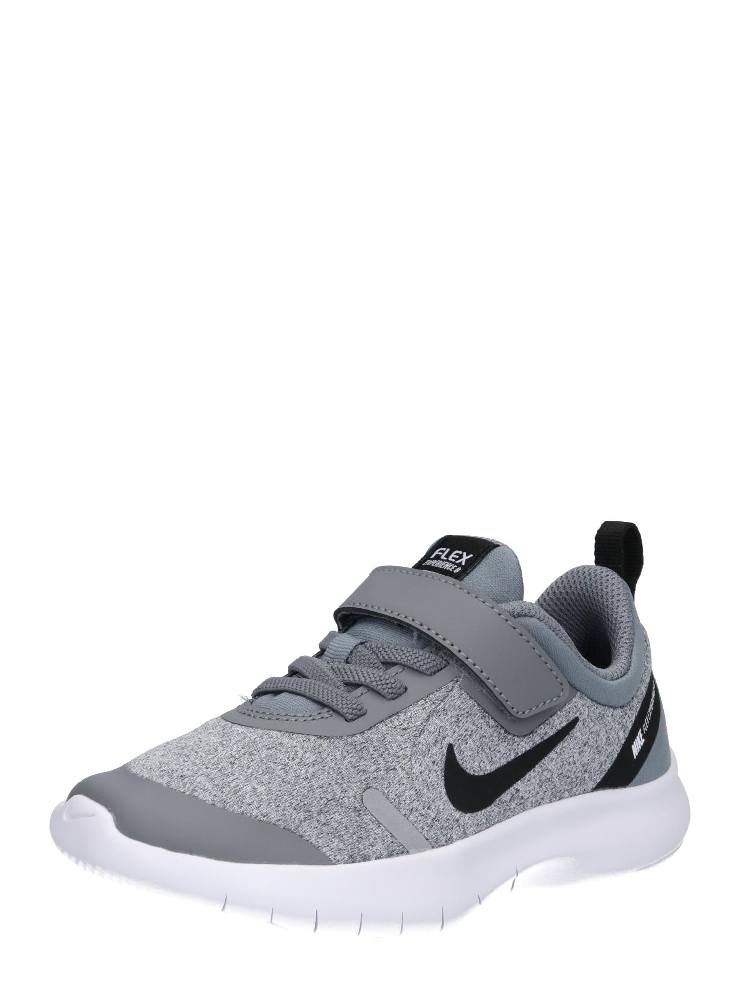 Sportovní boty Nike Flex Experience RN 8 světle šedá tmavě šedá NIKE