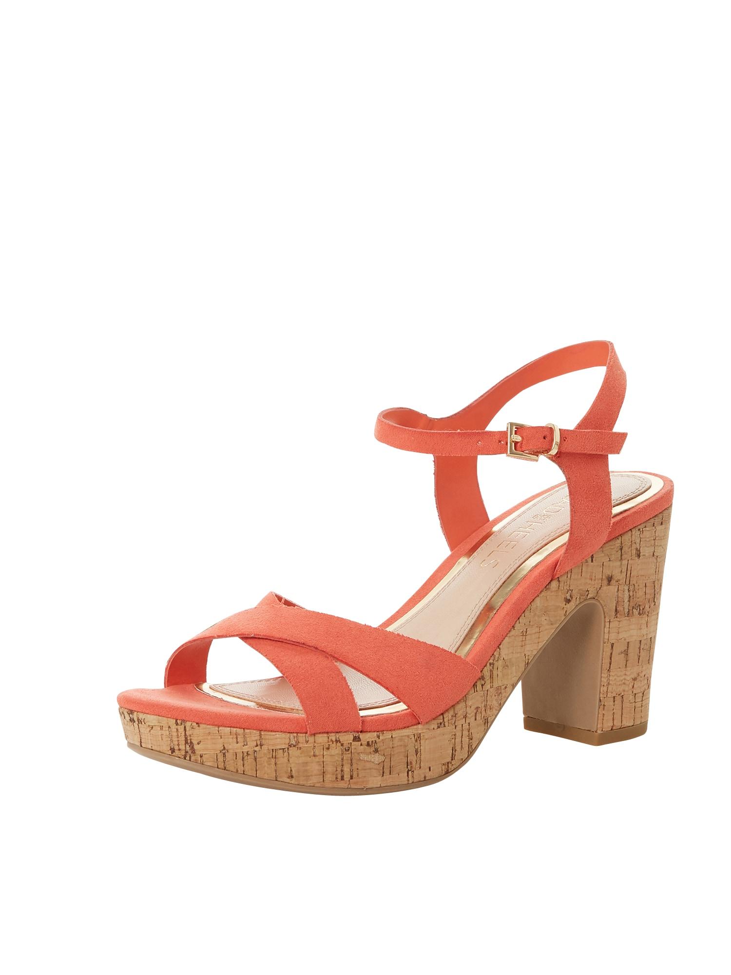 Páskové sandály JOANY oranžová Head Over Heels