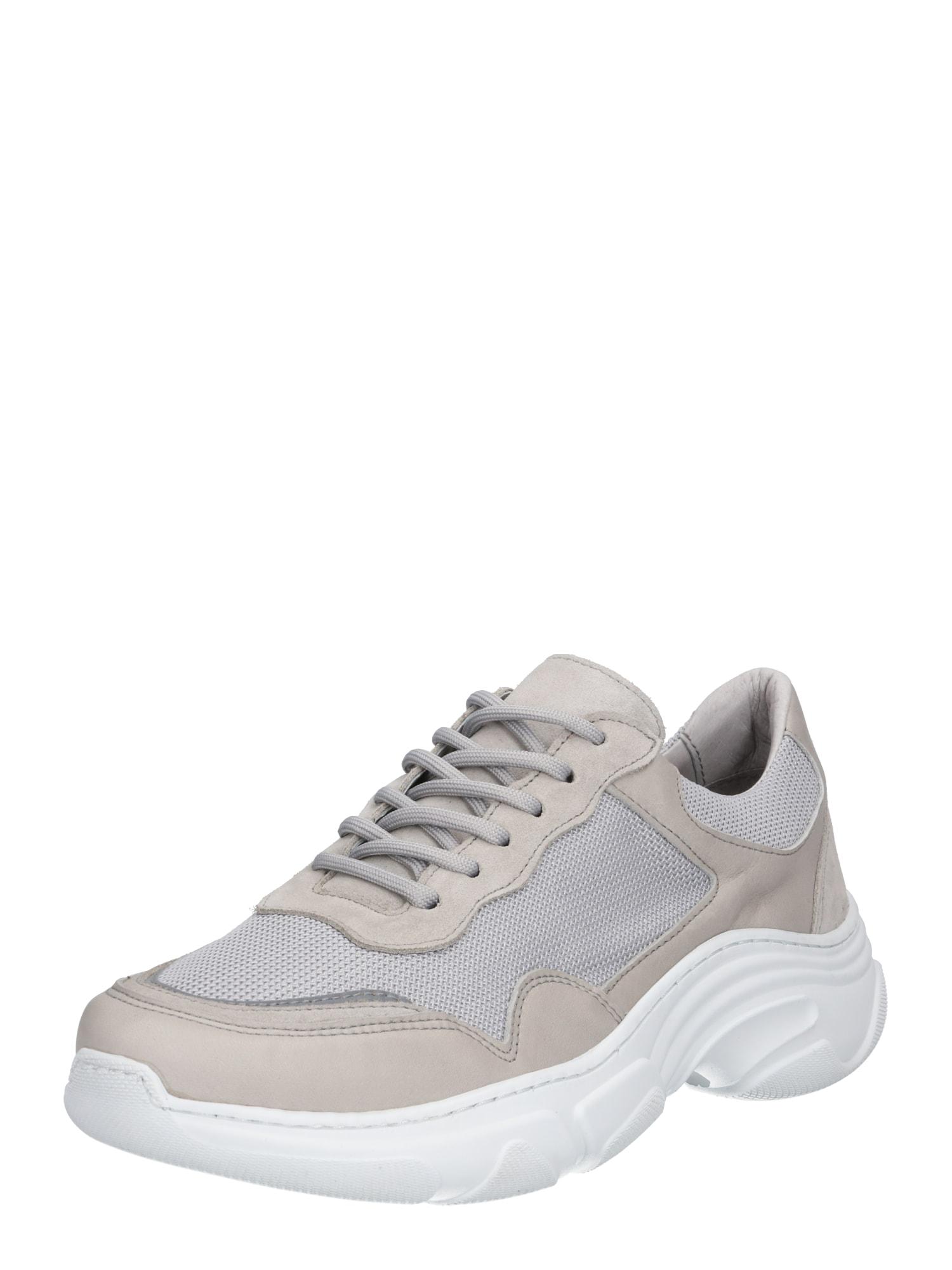 Tenisky Flex světle šedá bílá Garment Project