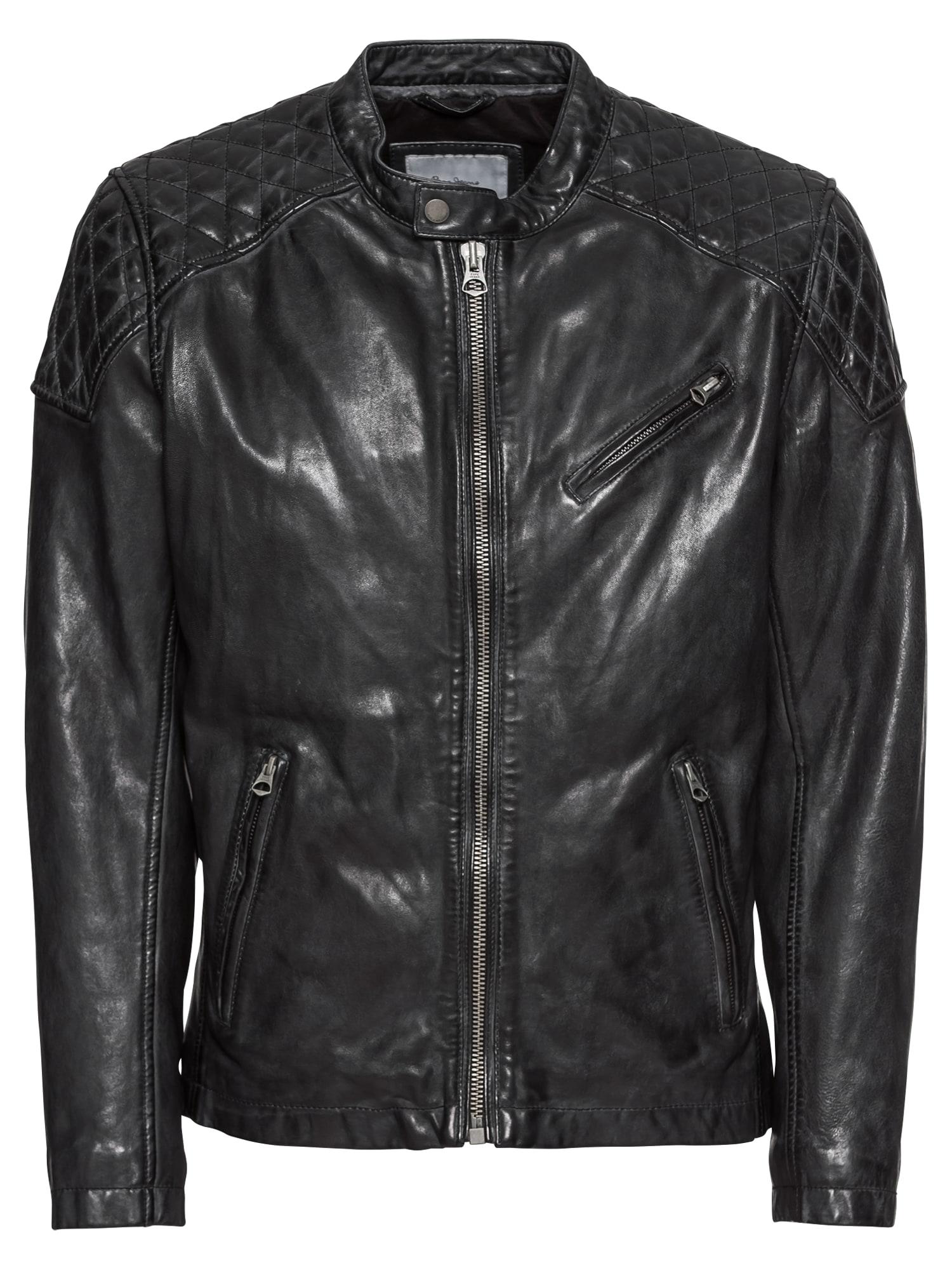 Přechodná bunda DAMASCUS černá Pepe Jeans