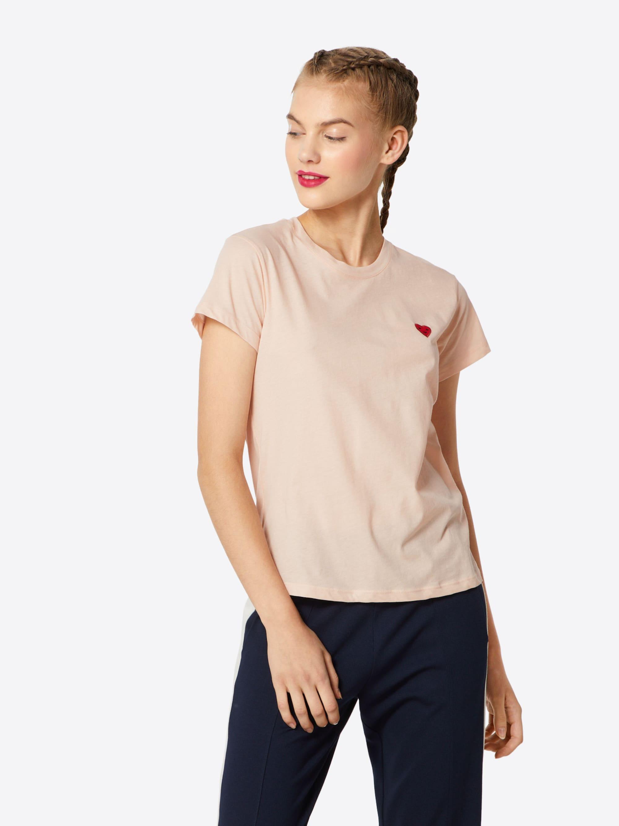 Review Koszulka  różowy pudrowy
