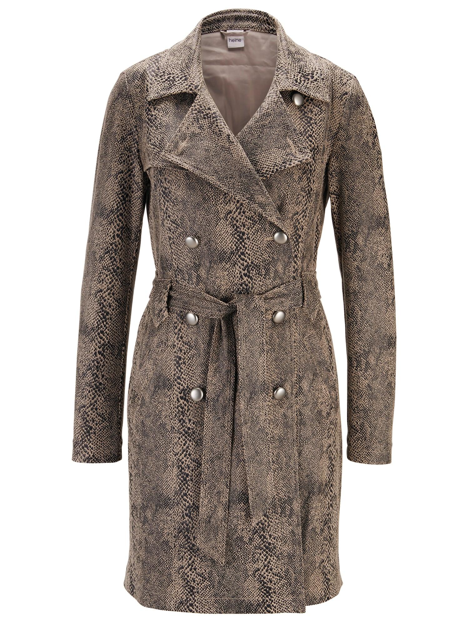 Přechodný kabát hnědá mix barev Heine