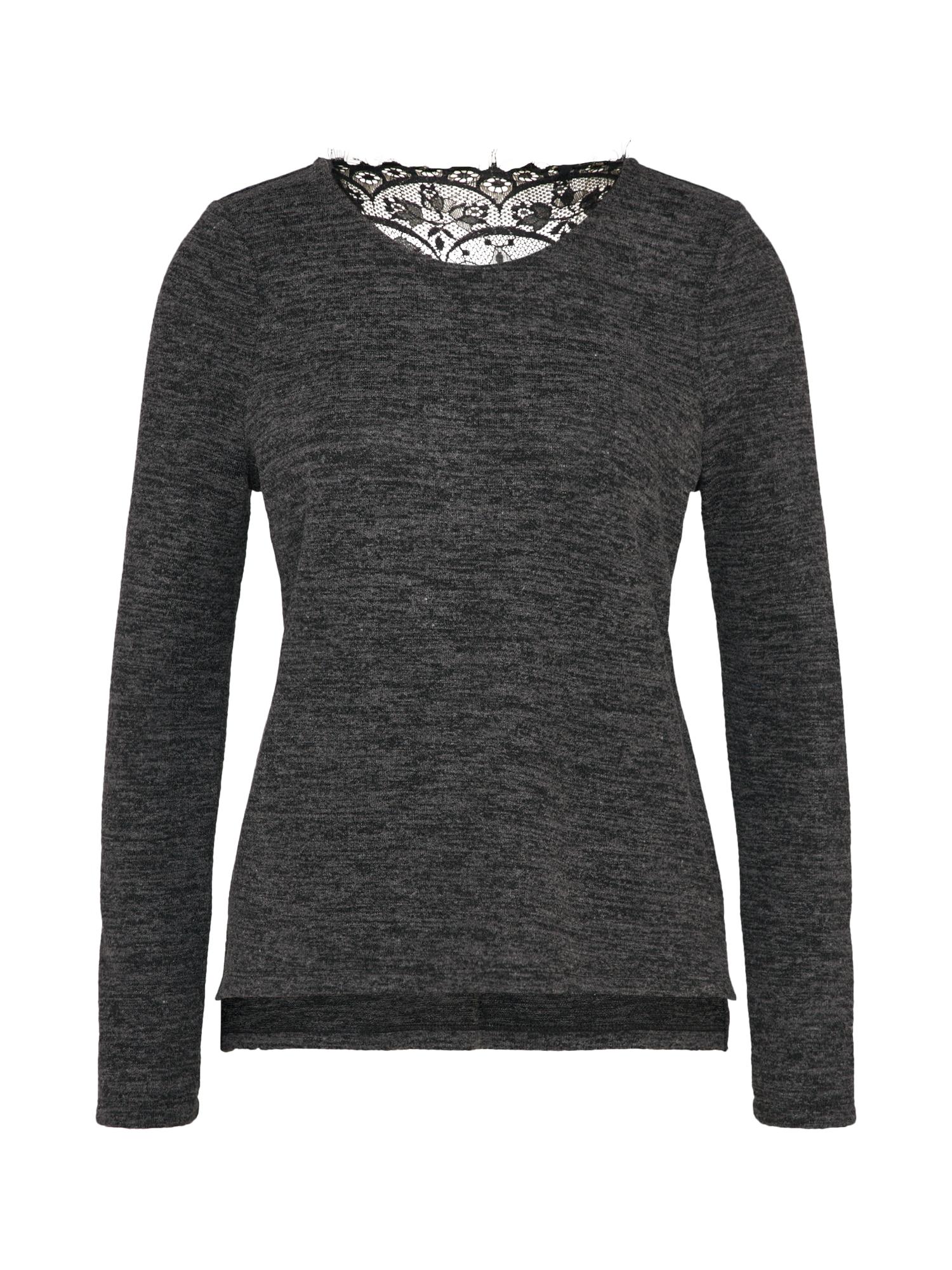 VERO MODA Kanten Sweatshirt Dames Zwart