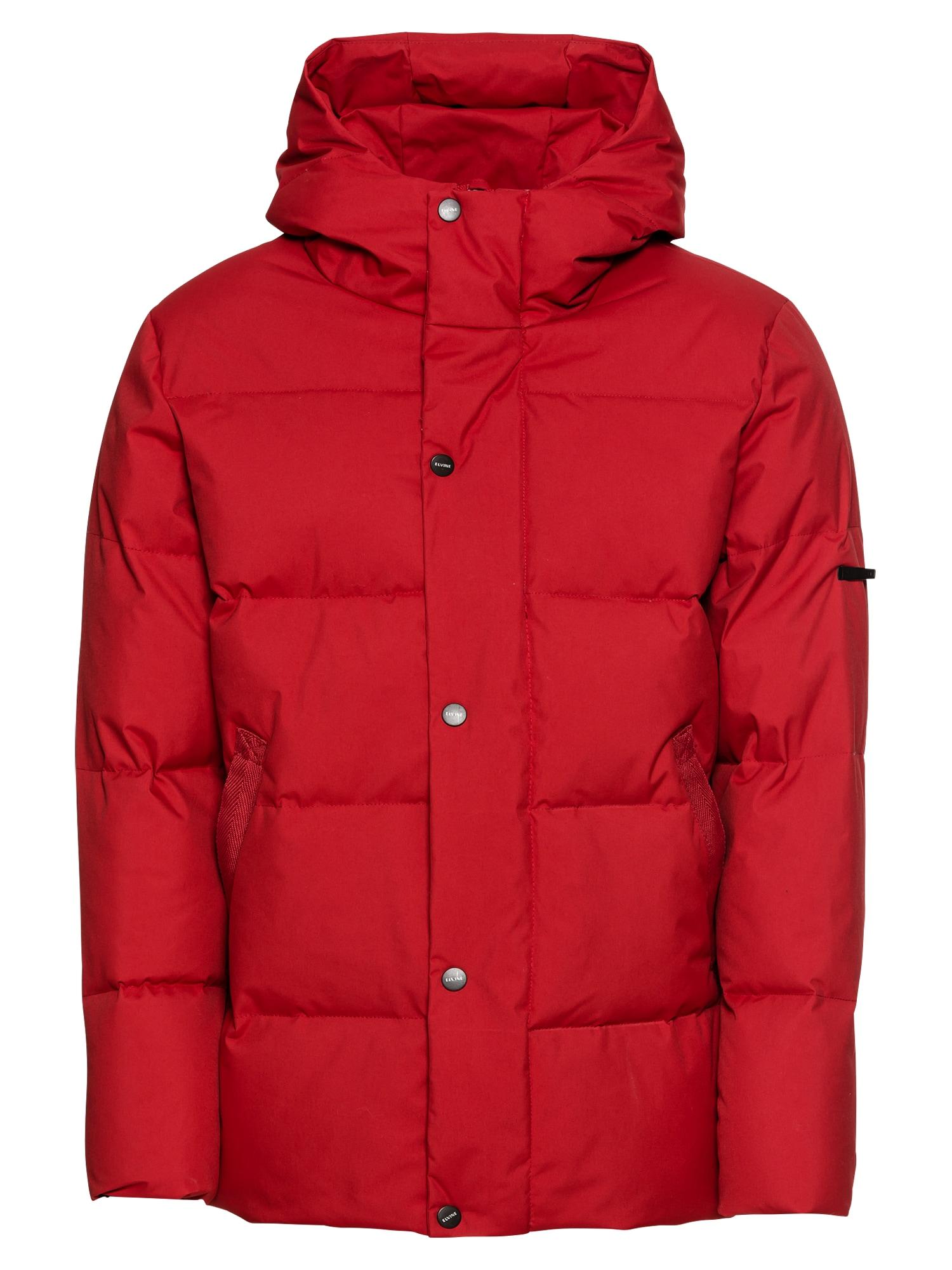 Zimní bunda Bruno červená Elvine