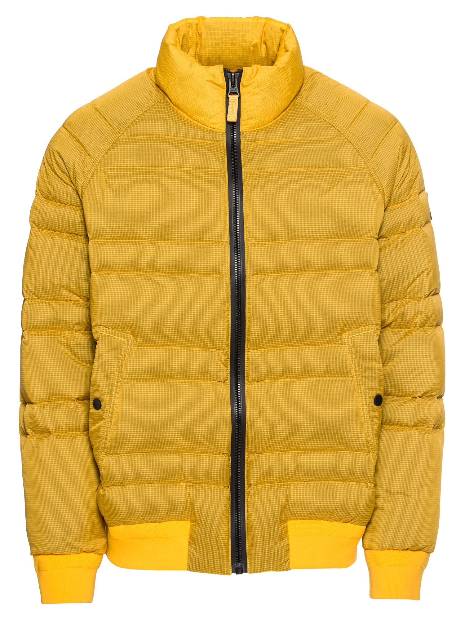Zimní bunda Ovid zlatě žlutá BOSS