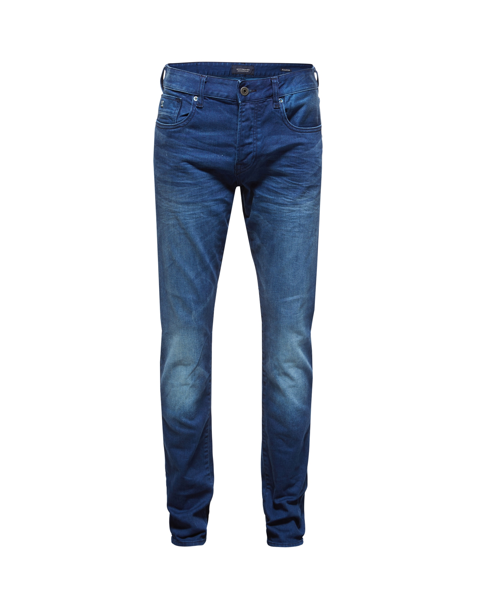 SCOTCH  and  SODA Heren Jeans Ralston Winter Spirit donkerblauw