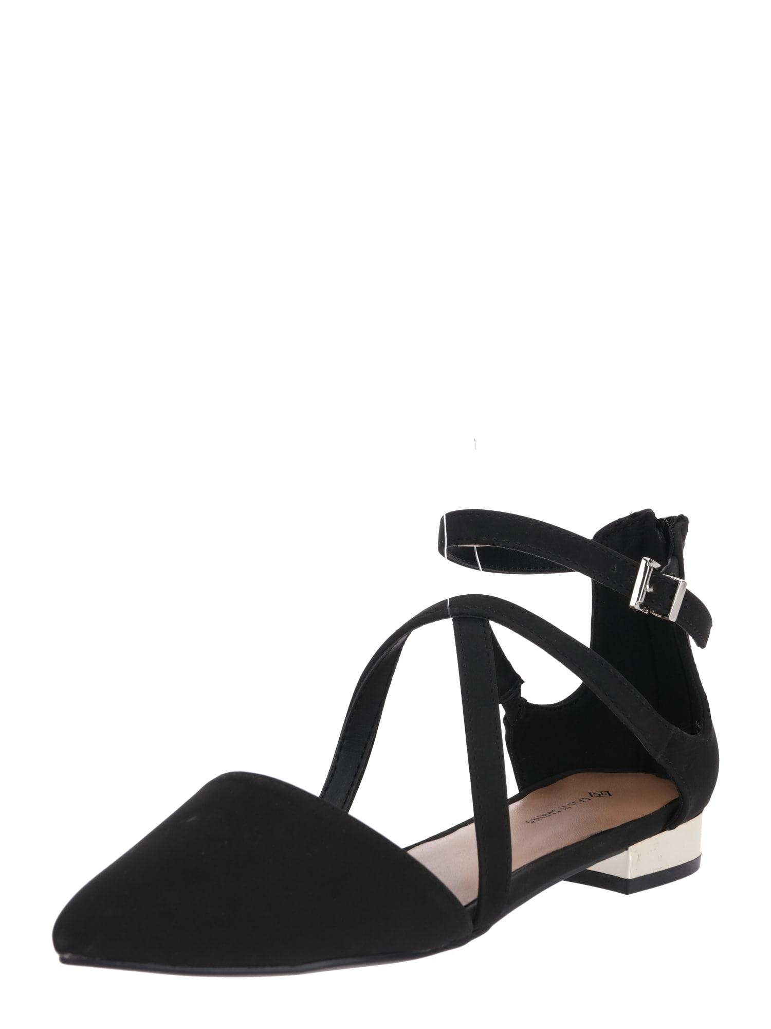 Páskové sandály WATERY černá CALL IT SPRING