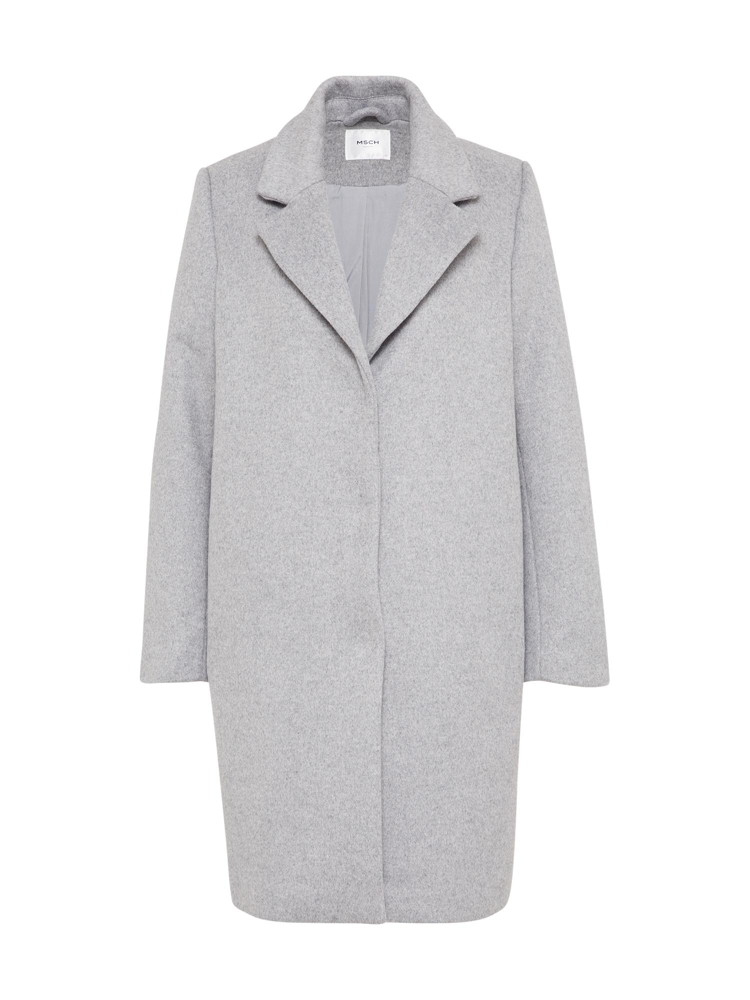 Přechodný kabát Como světle šedá MOSS COPENHAGEN