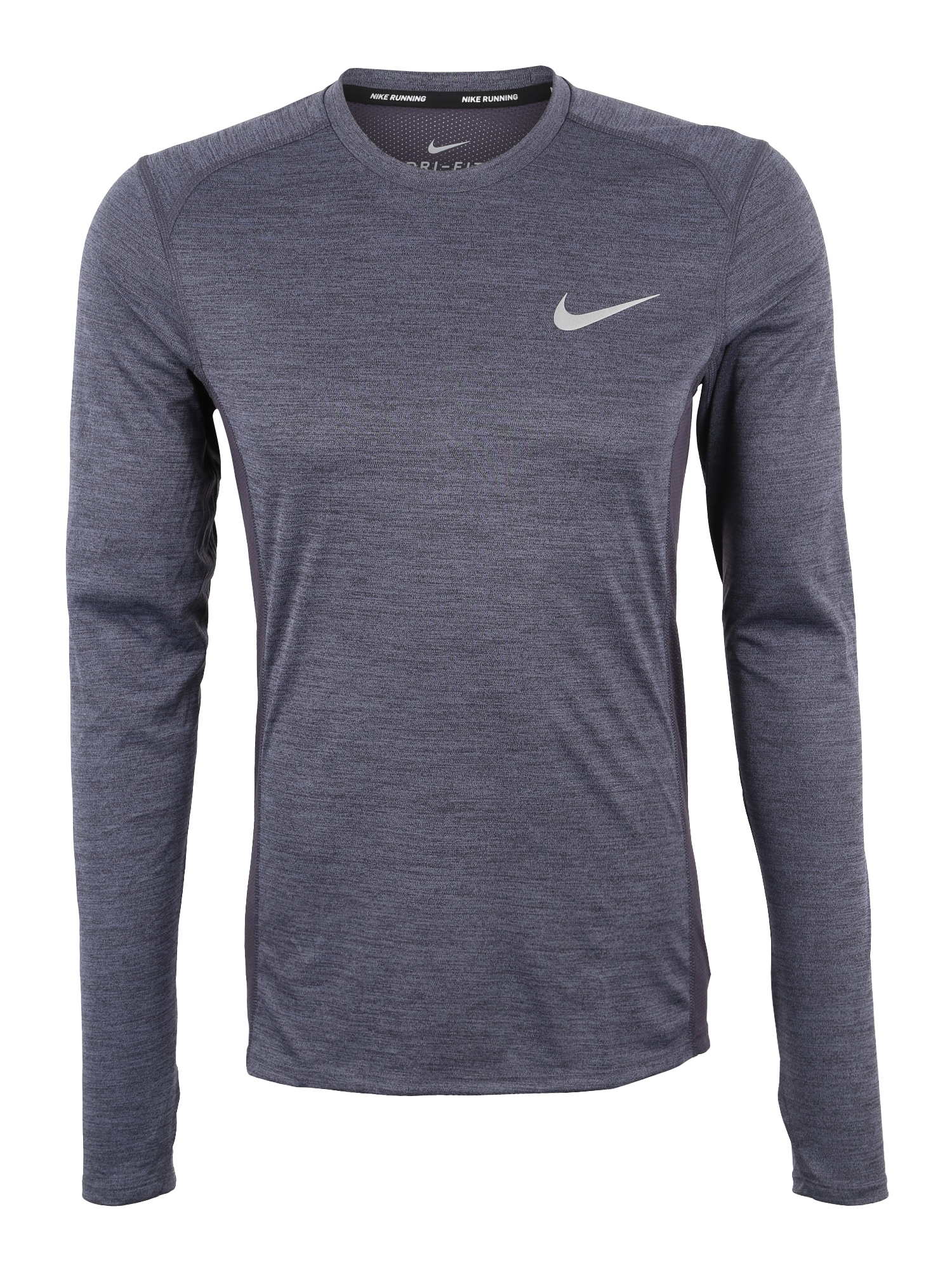 NIKE Funkčné tričko 'Dry Miler'  sivá