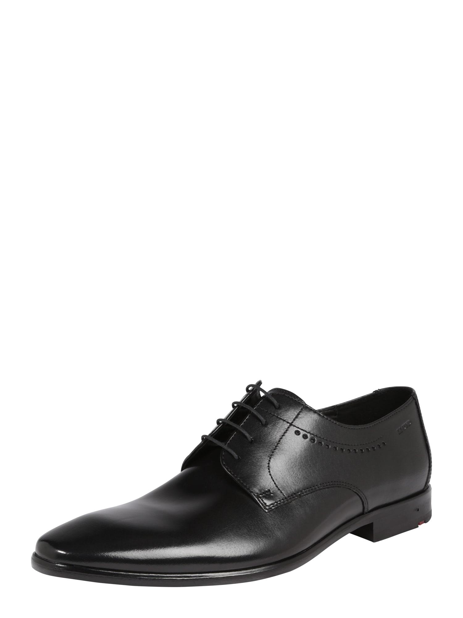 Šněrovací boty OCAS černá LLOYD