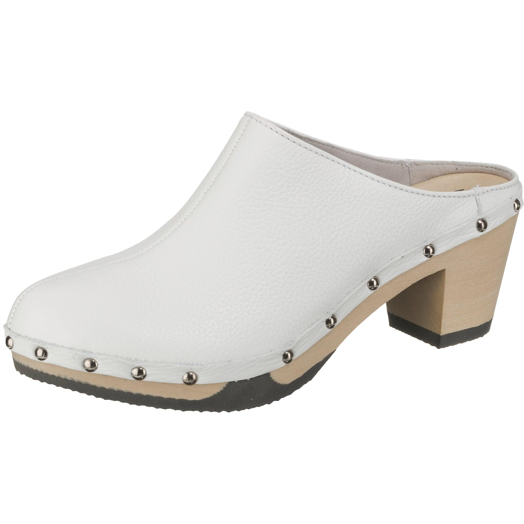 Clogs 'Georgia' | Schuhe > Clogs & Pantoletten > Clogs | Weiß | SOFTCLOX