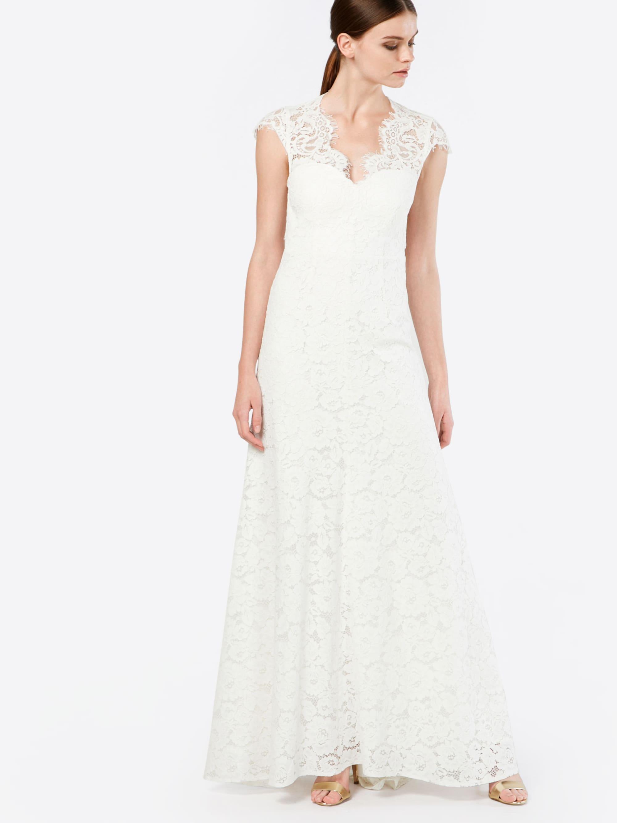 Avondjurk 'BRIDAL DRESS WITH TAIL'