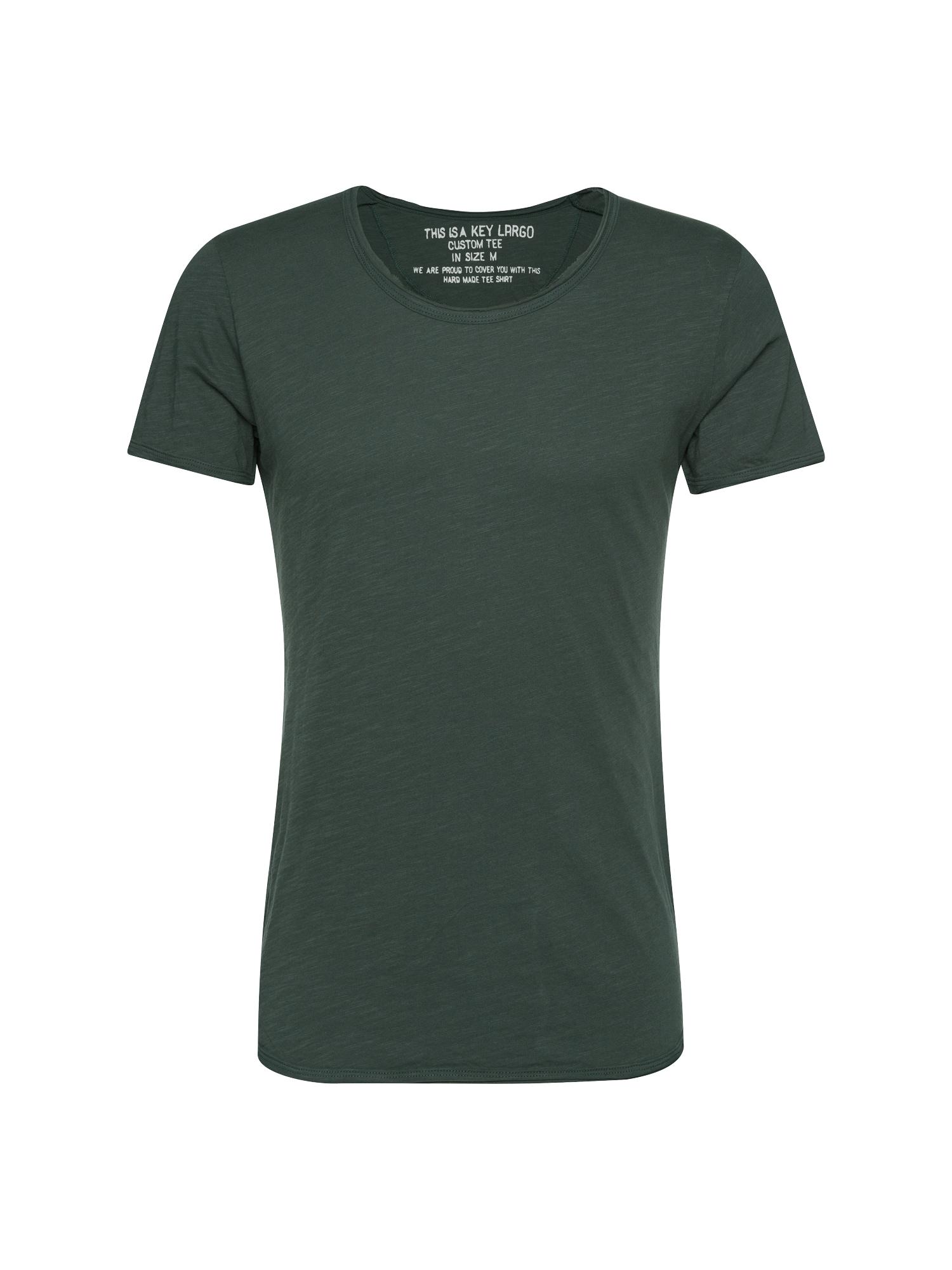 Tričko T BREAD tmavě zelená Key Largo