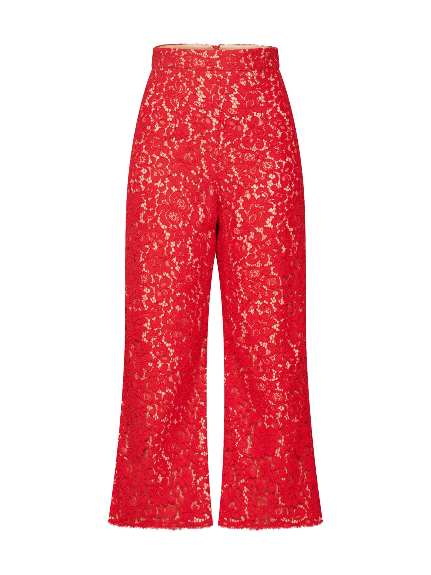 Kalhoty červená Bardot