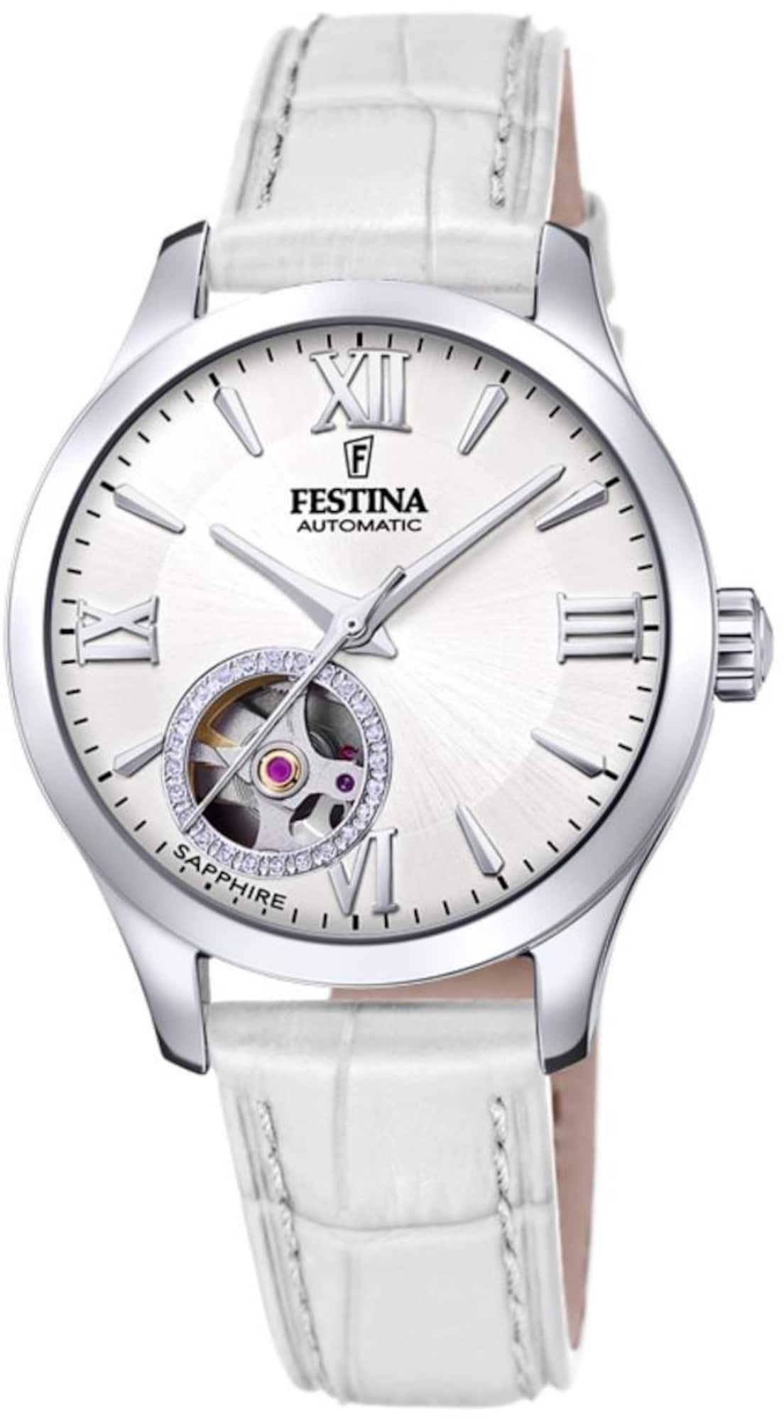 Automatikuhr 'Automatik, F20490/1' | Uhren > Automatikuhren | Weiß | FESTINA