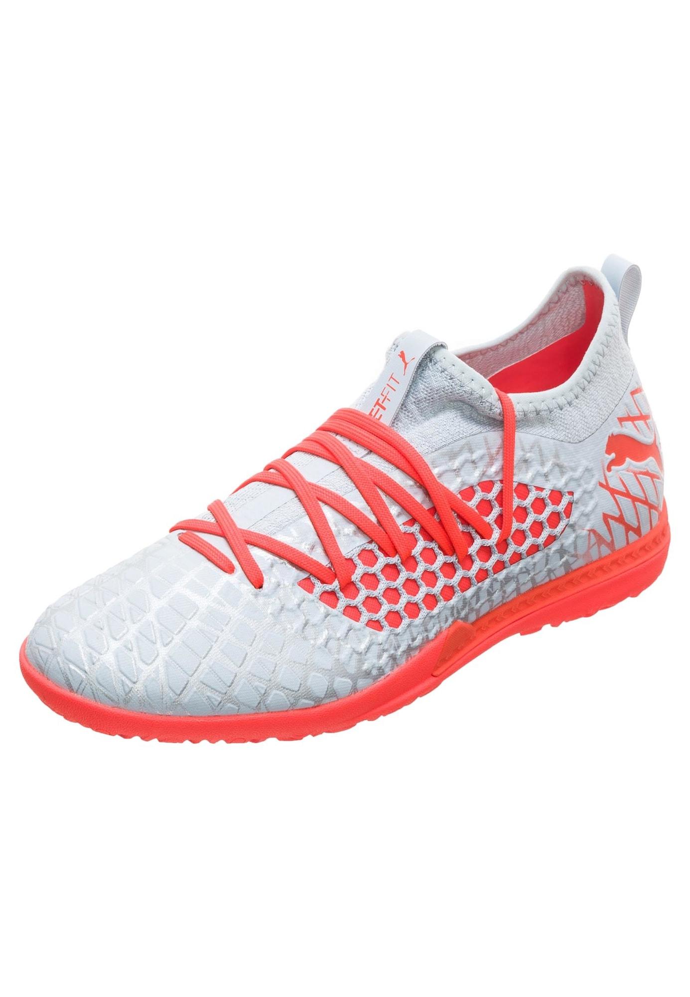 Fußballschuh 'Future 4.3 Netfit TT' | Schuhe > Sportschuhe > Fußballschuhe | Rot - Weiß | Puma