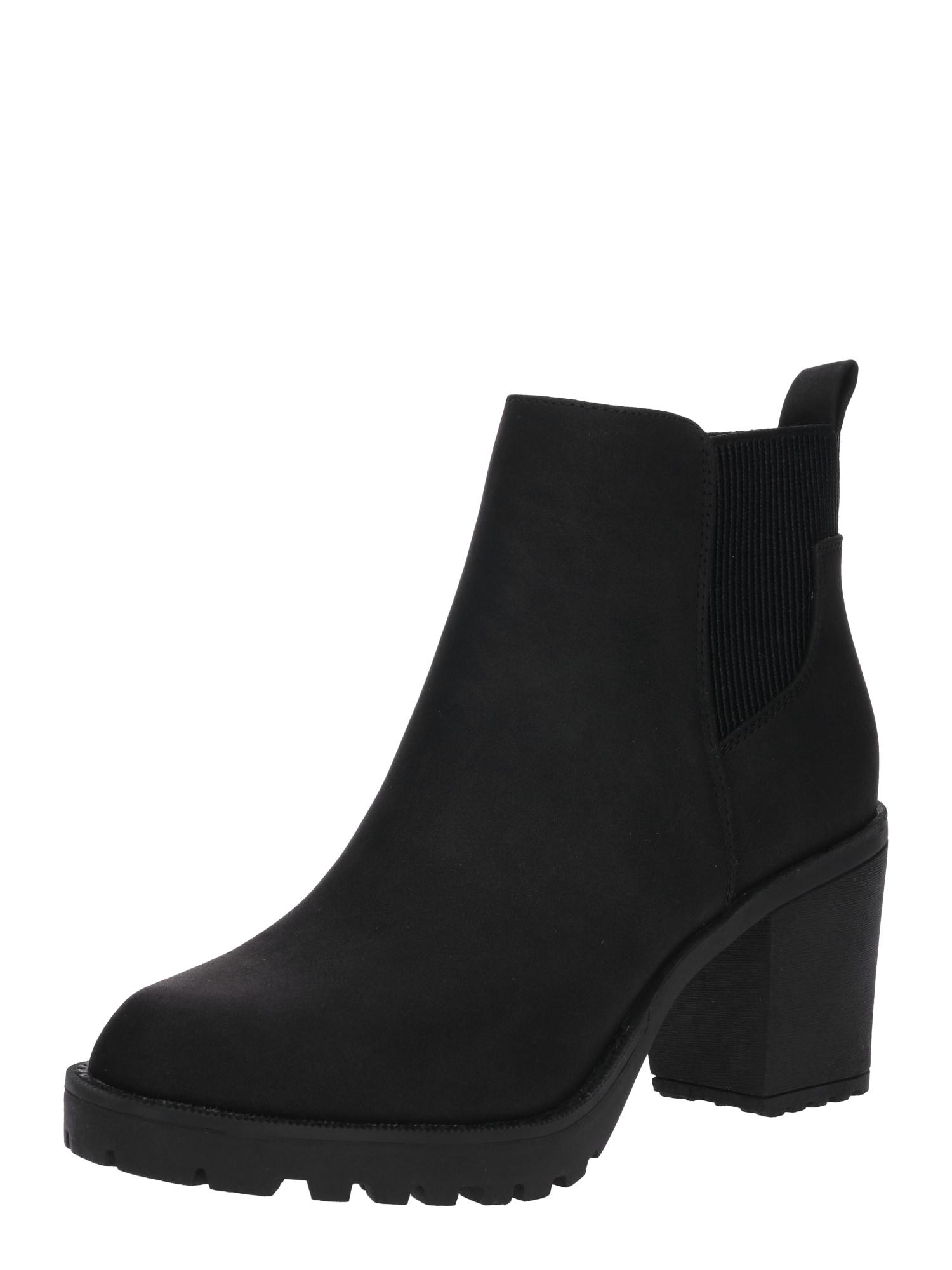 Kotníkové boty Barbara černá ONLY