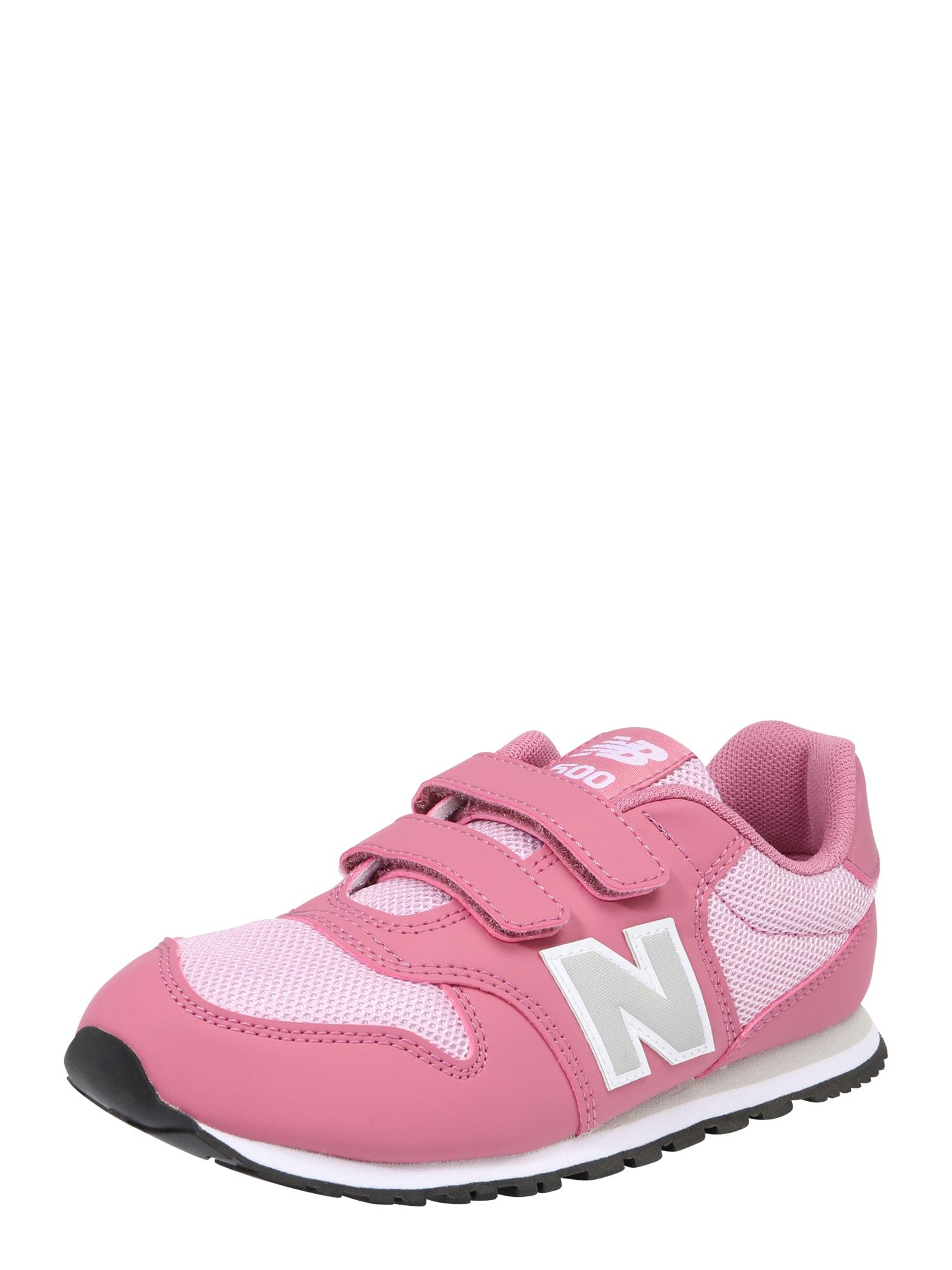 Sportovní boty YV500 M šedá pink růžová New Balance