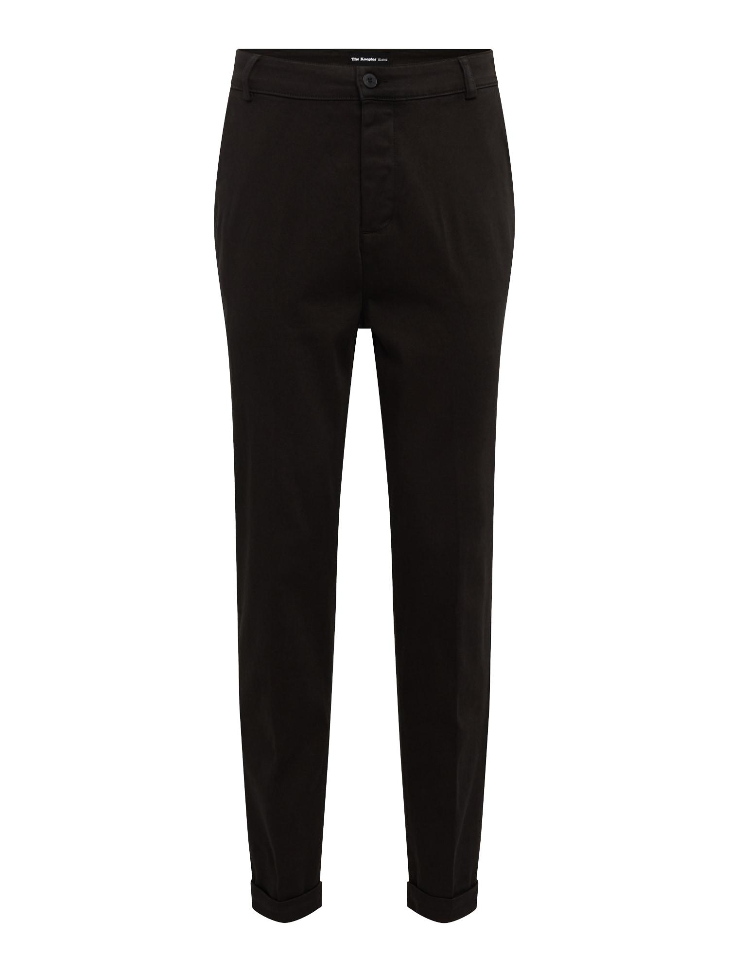 Kalhoty TROUSER černá THE KOOPLES SPORT