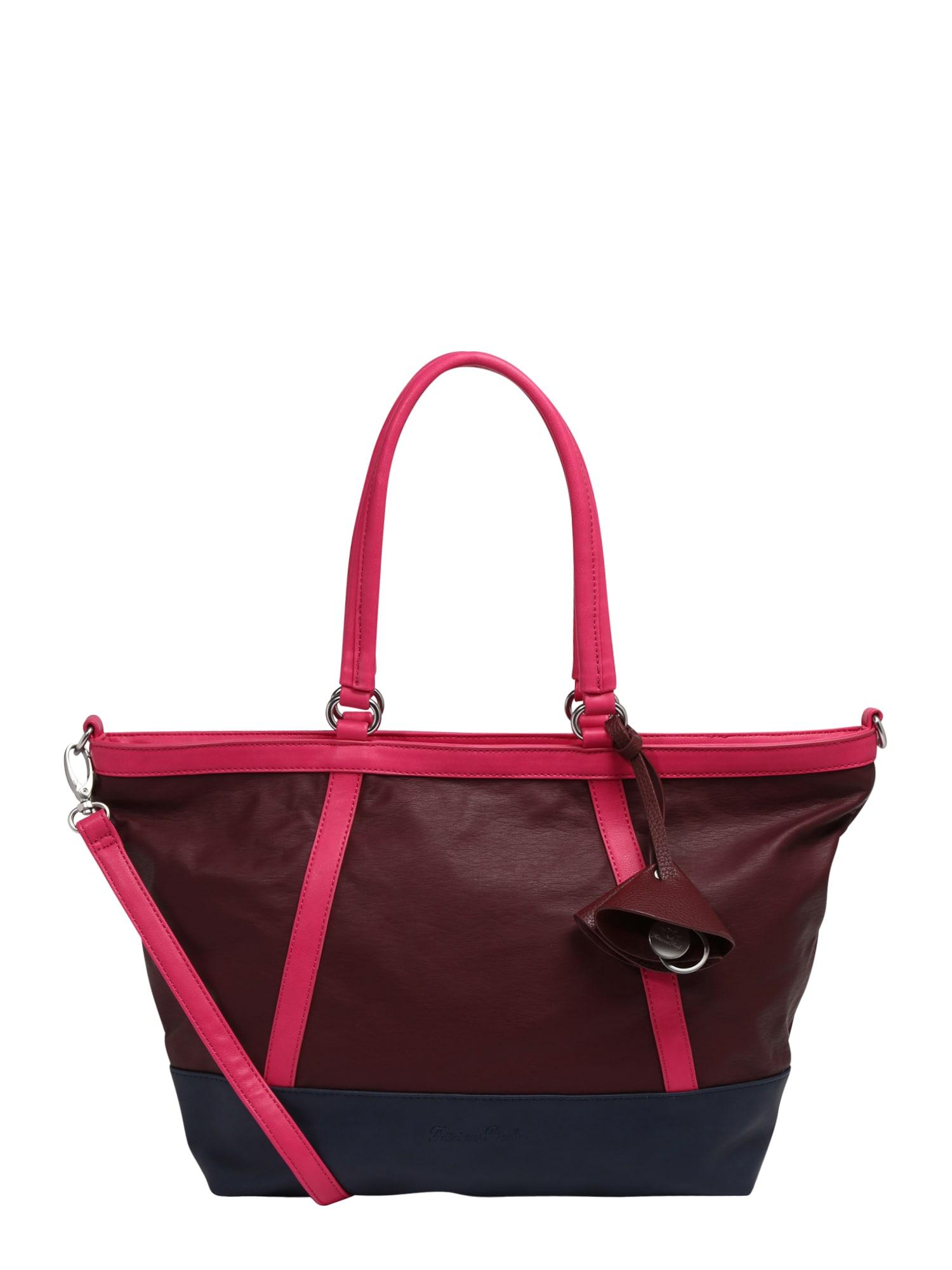 Nákupní taška Madison modrá pink merlot Fritzi Aus Preußen