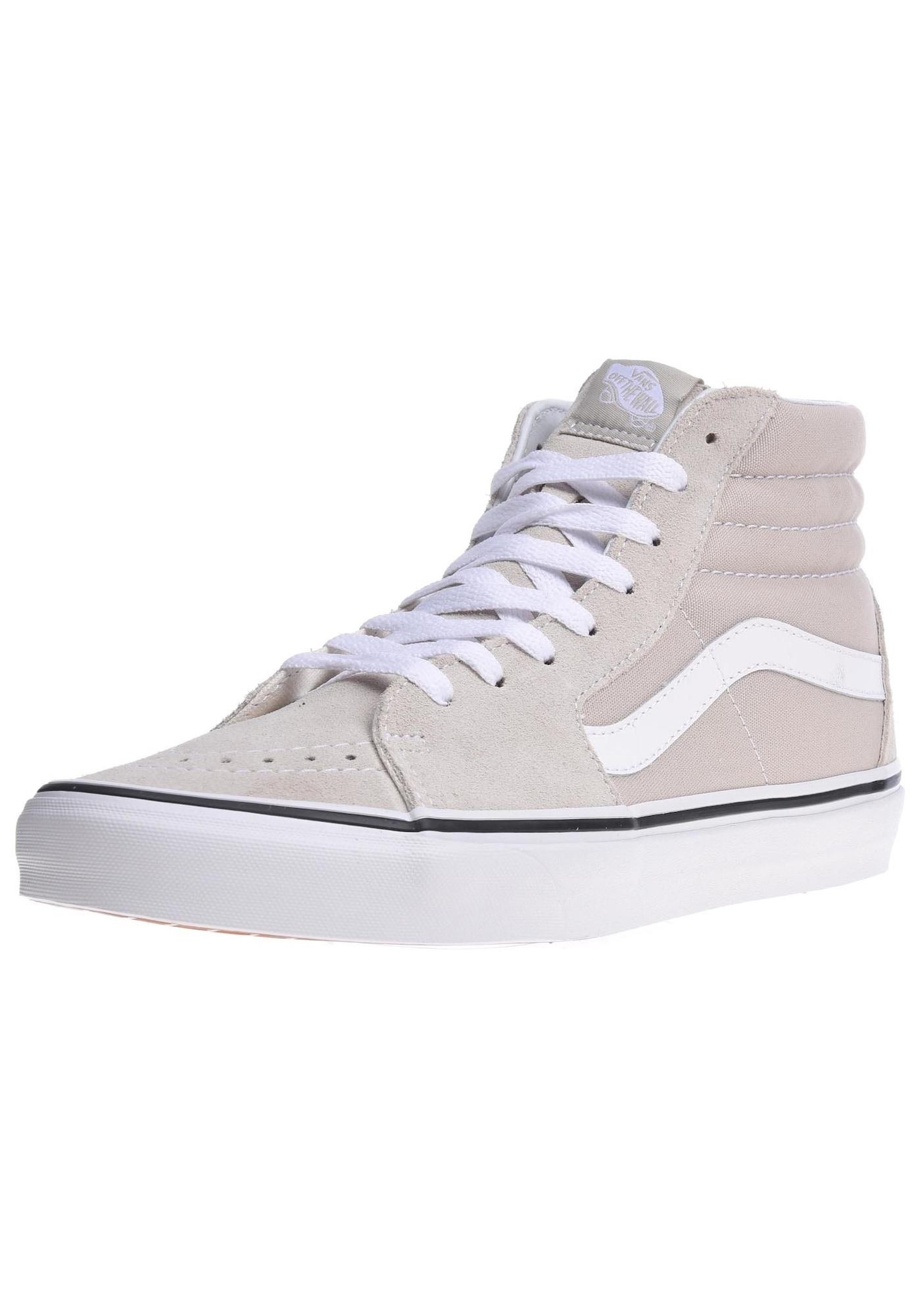 VANS, Dames Sneakers hoog 'Sk8-Hi', beige / pastelroze / wit