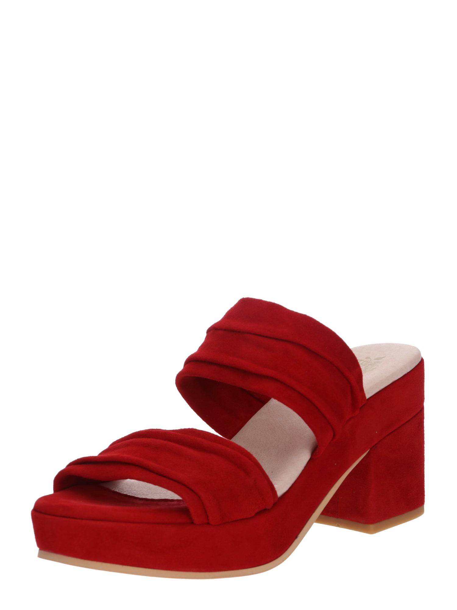 Sandály Blanca červená Apple Of Eden