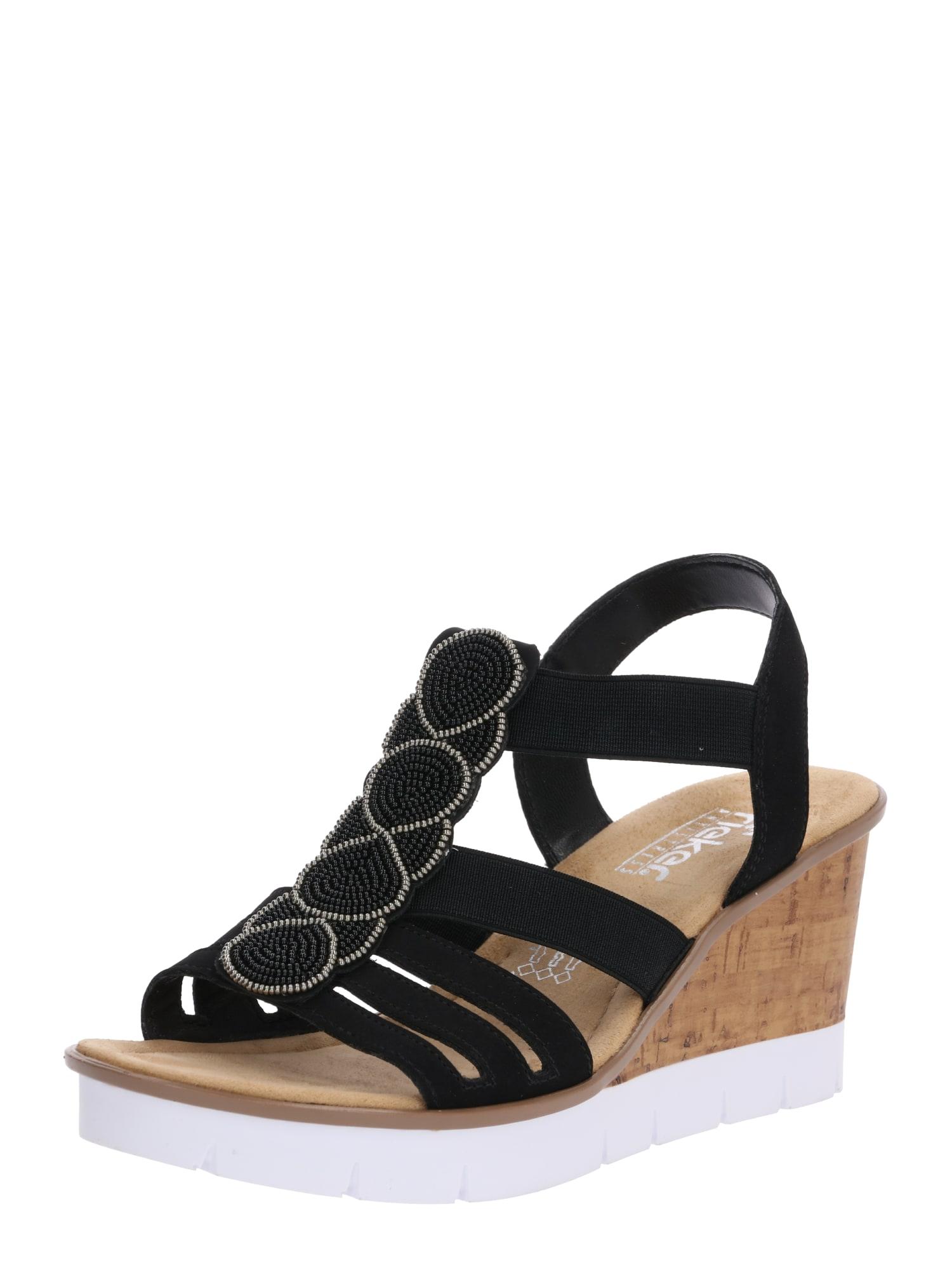 Sandály V55D8-00 černá RIEKER