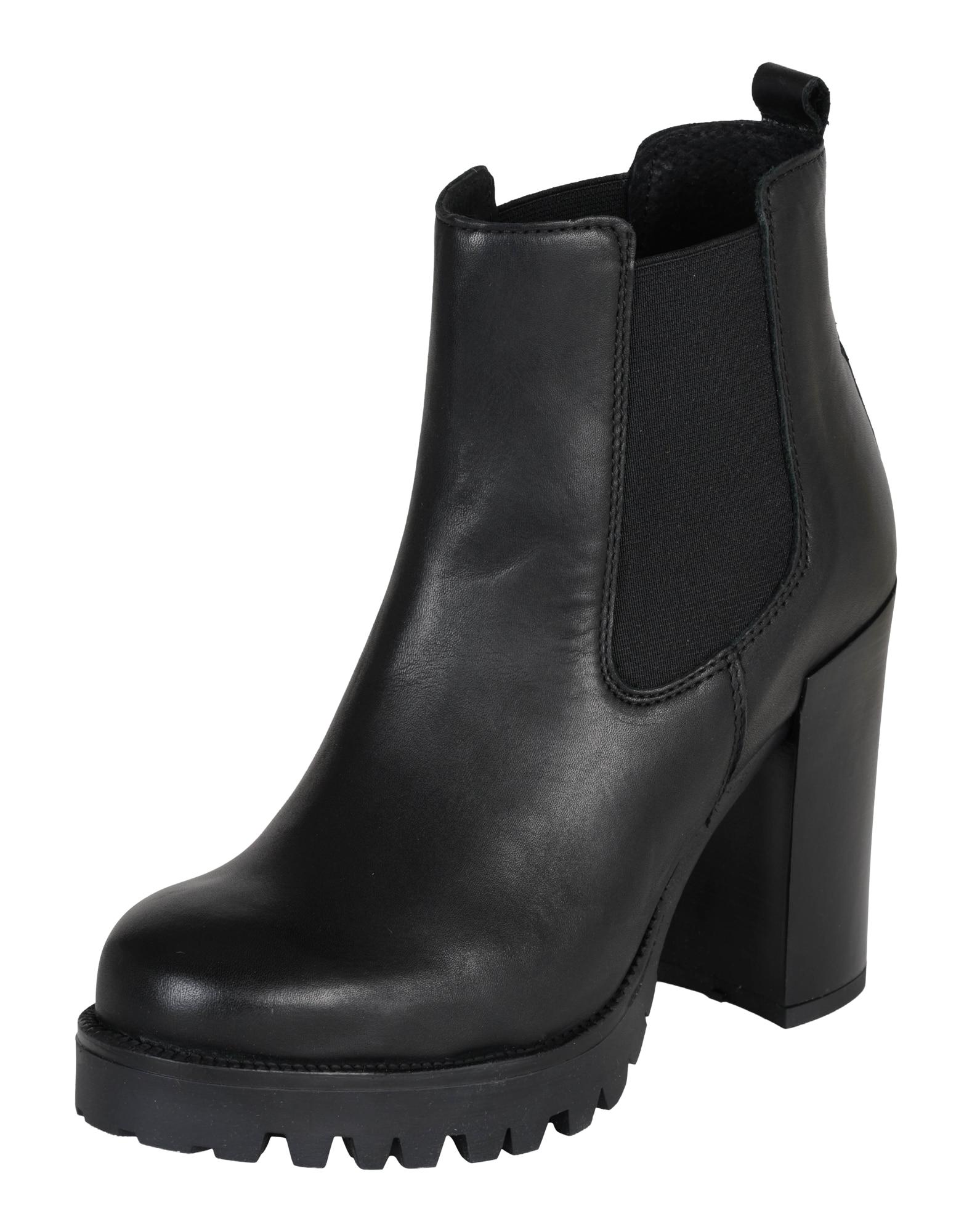 Kotníkové boty černá PS Poelman