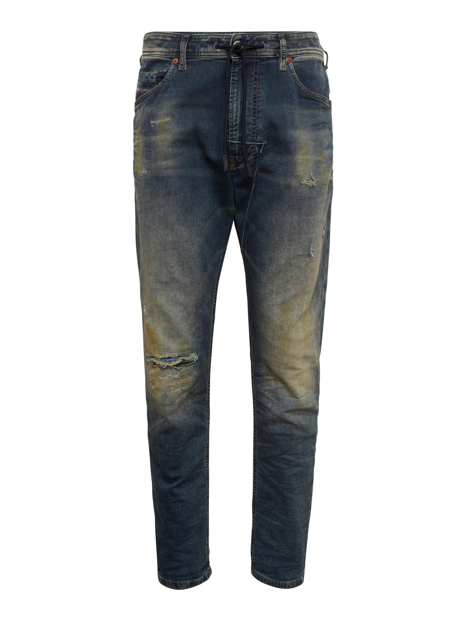 DIESEL Heren Jeans NARROT CB-NE Sweat jeans blauw denim