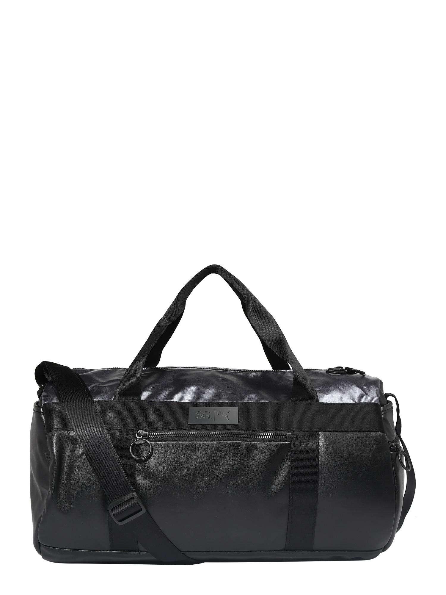 Sportovní taška SG X Puma Style Barrel černá PUMA