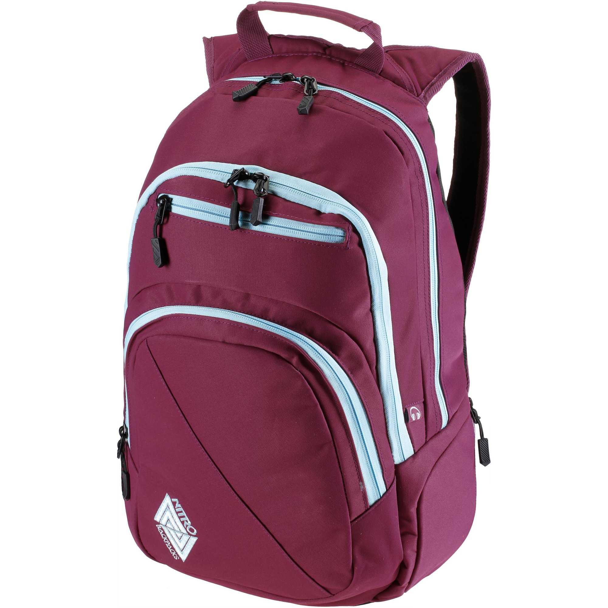Daypack | Taschen > Rucksäcke > Tourenrucksäcke | Hellblau - Pink | Nitro