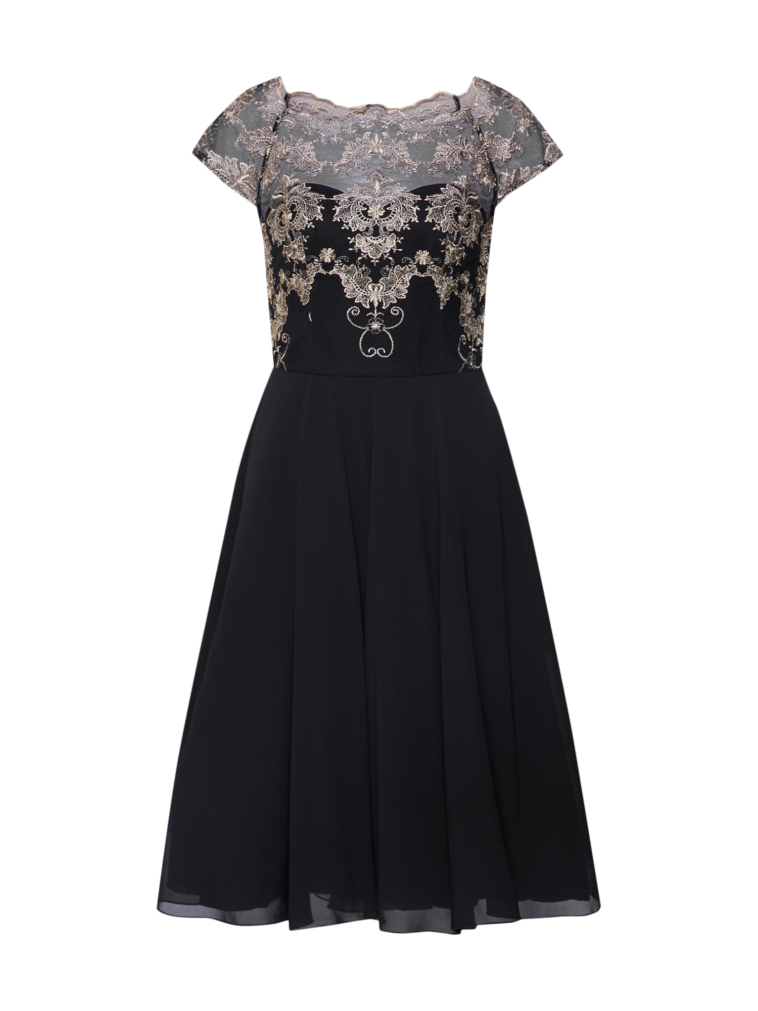 Koktejlové šaty Domenica černá Chi Chi London