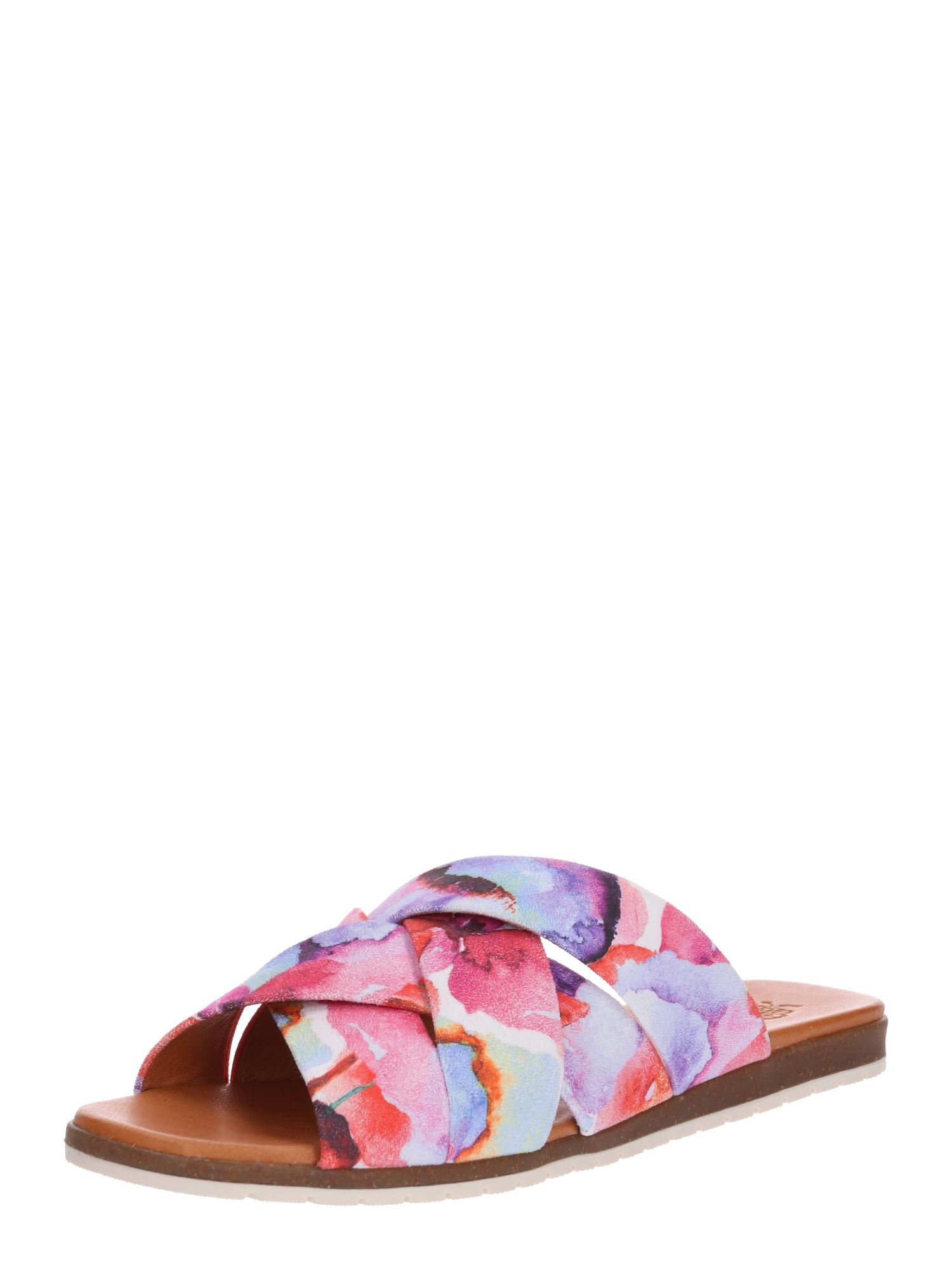 Pantofle Berta béžová pink Apple Of Eden