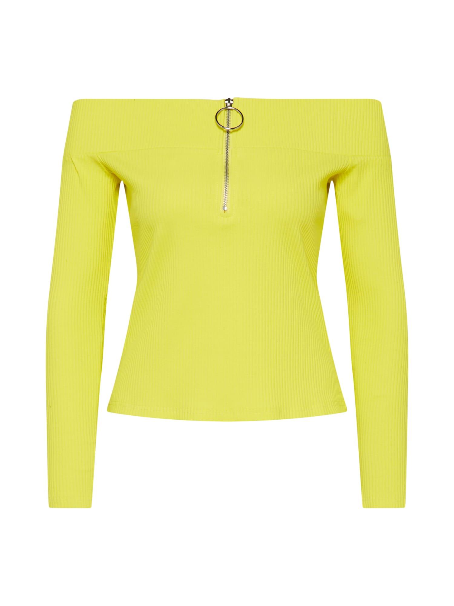 Tričko žlutá GLAMOROUS