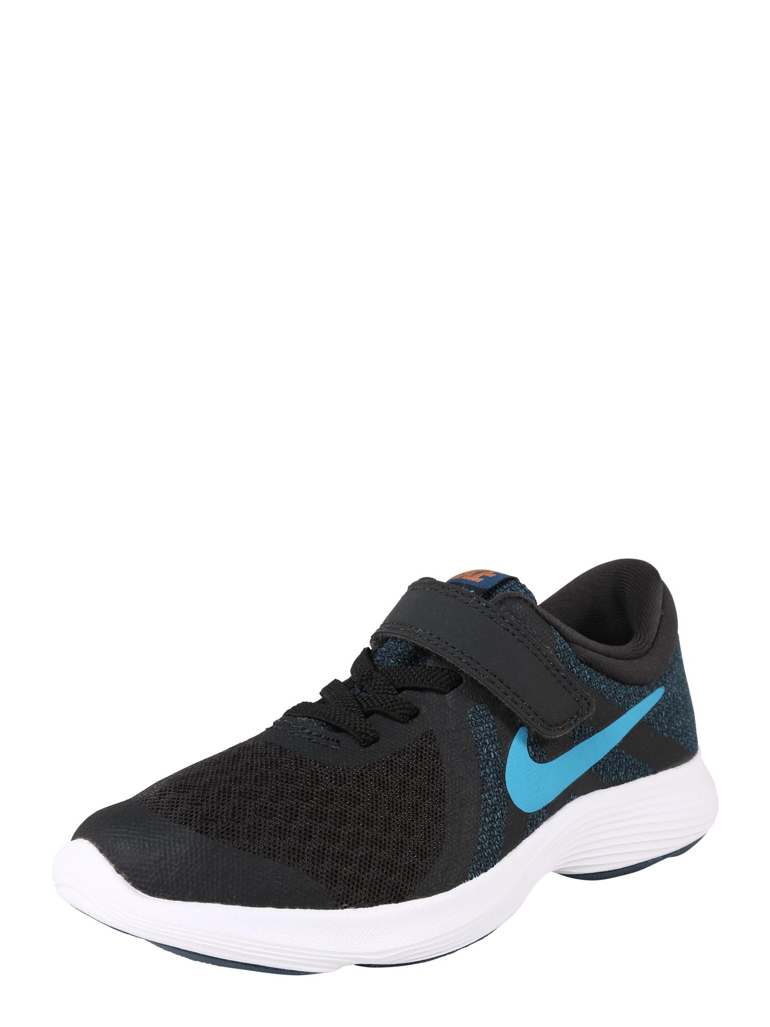 Sportovní boty Revolution 4 námořnická modř světlemodrá bílá NIKE