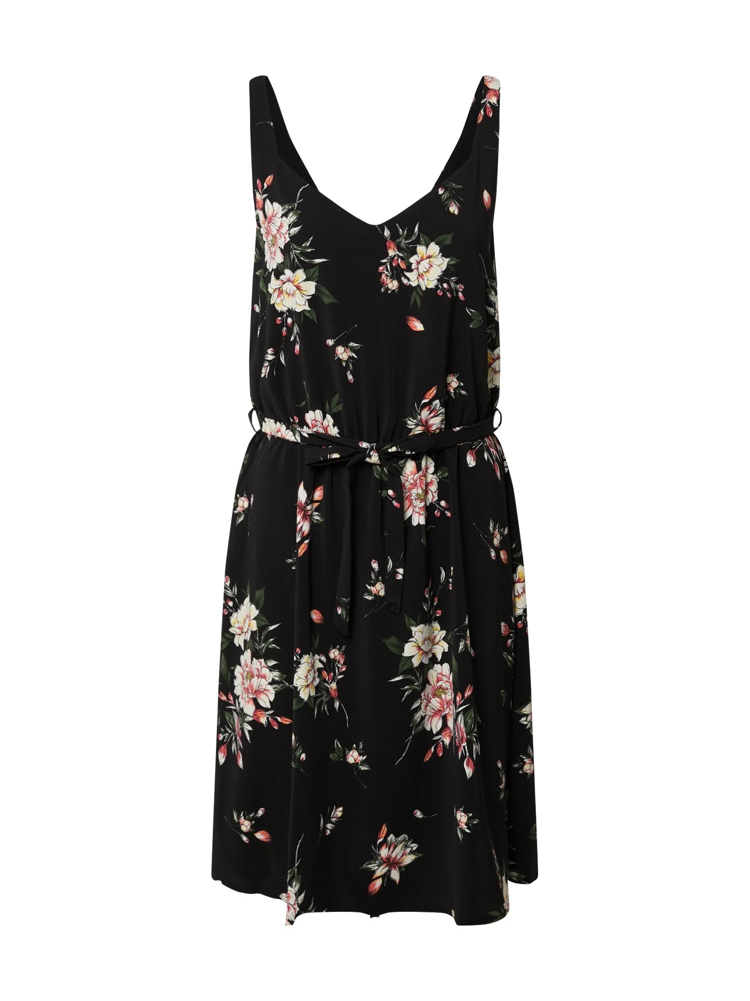 VILA Letní šaty  černá