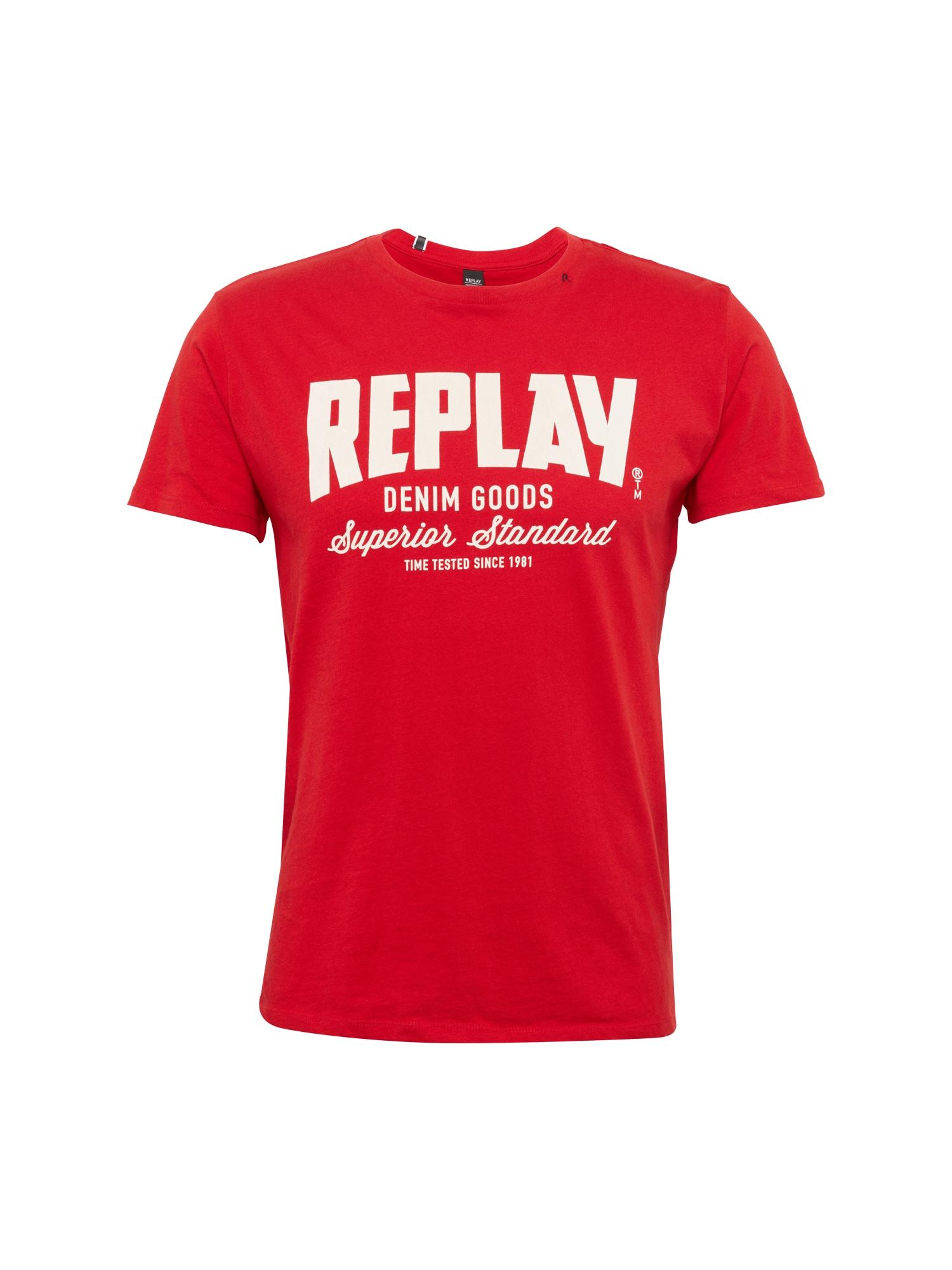 REPLAY Heren Shirt rood