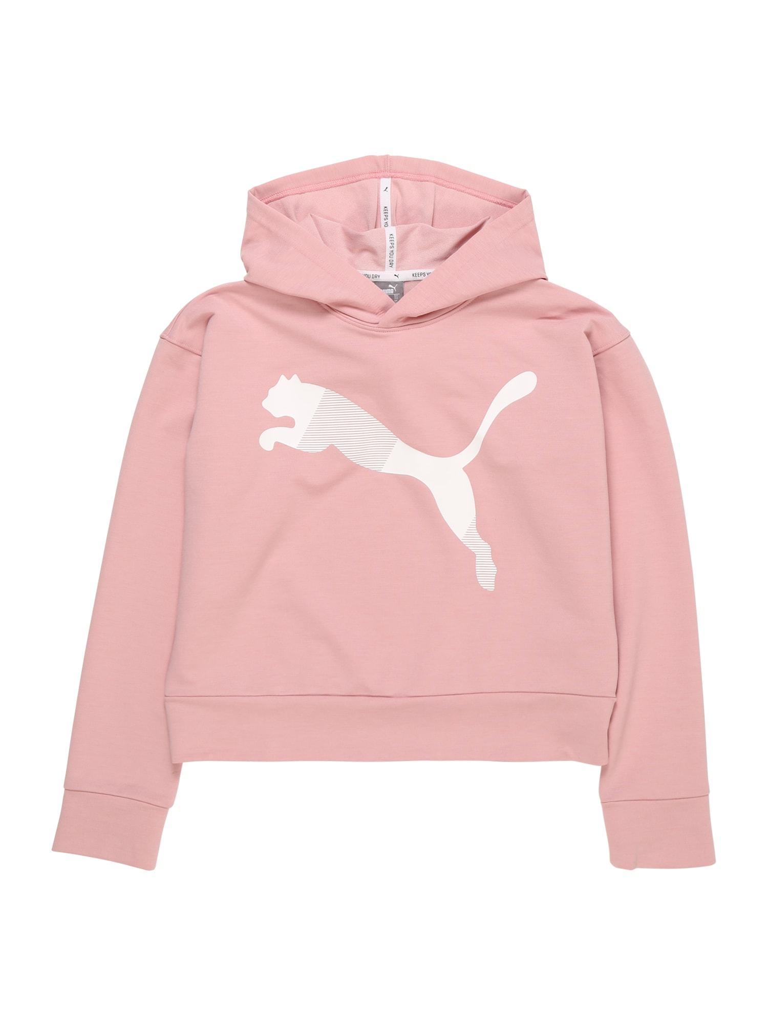 Sportovní mikina růžová bílá PUMA